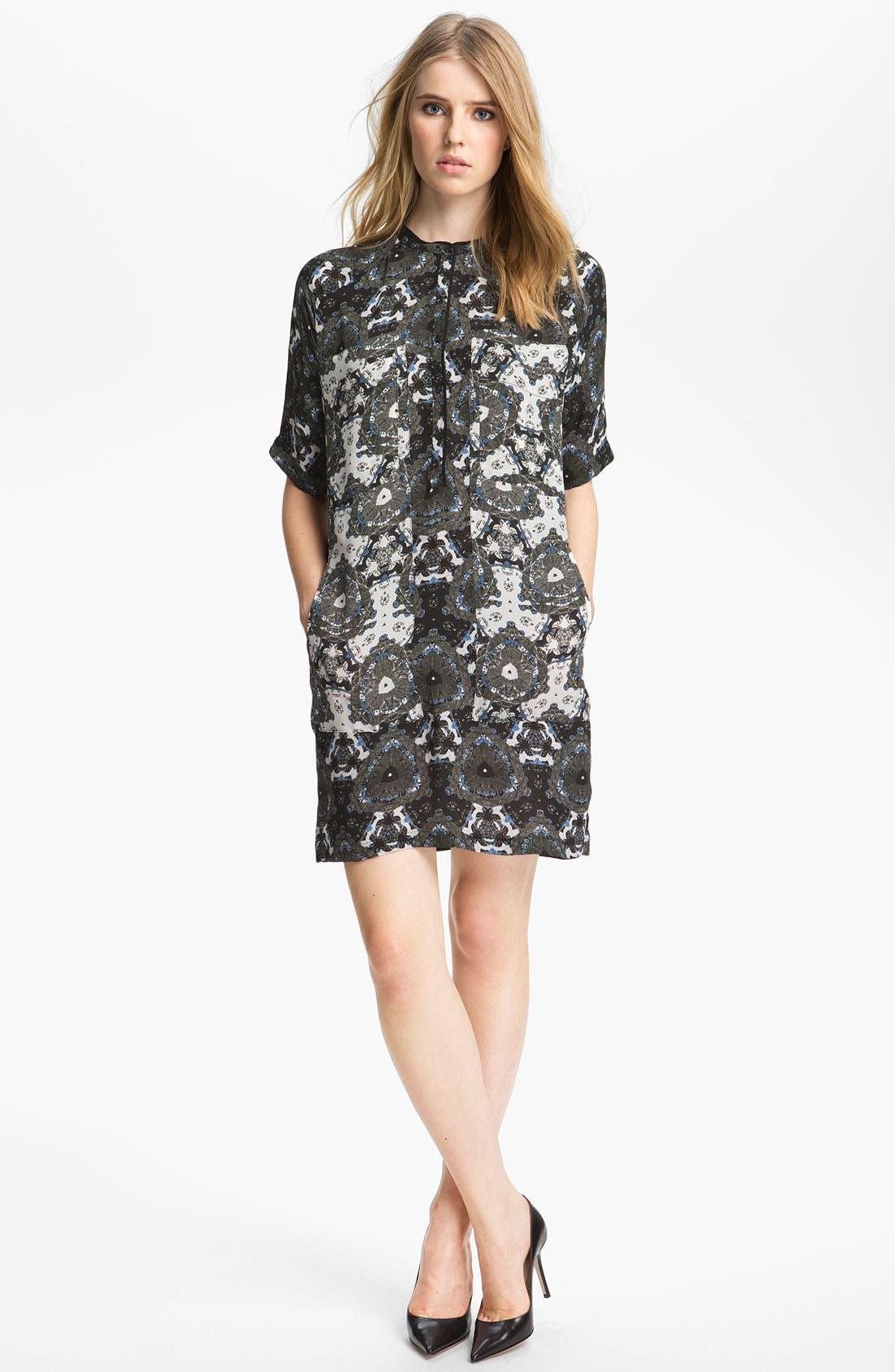 Alternate Image 1 Selected - A.L.C. 'Kirkham' Silk Dress