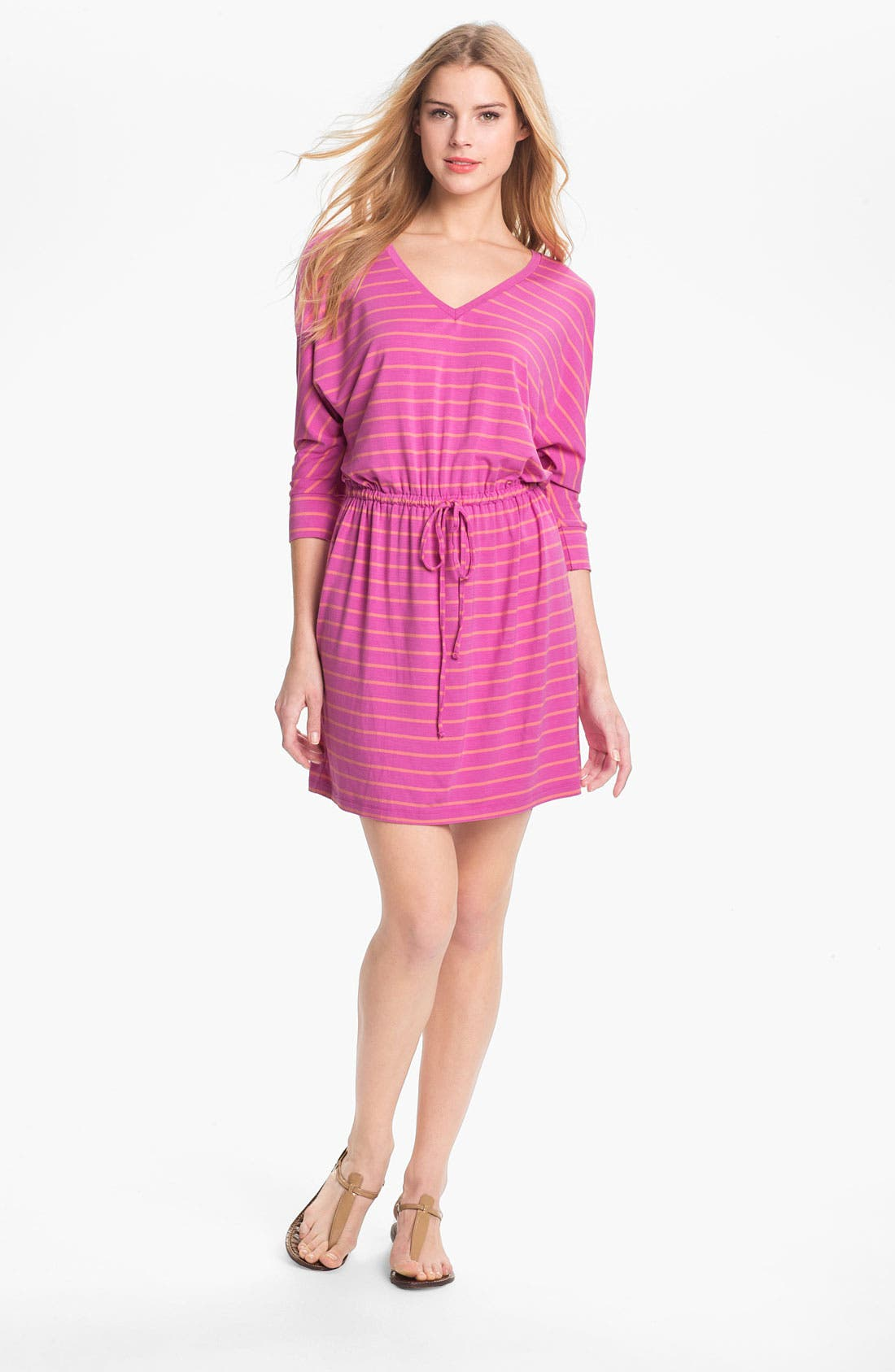 Main Image - Caslon Three Quarter Dolman Sleeve Knit Dress