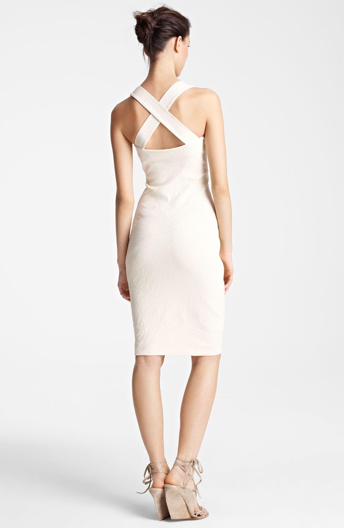 Alternate Image 2  - Donna Karan Collection Canvas Sheath Dress