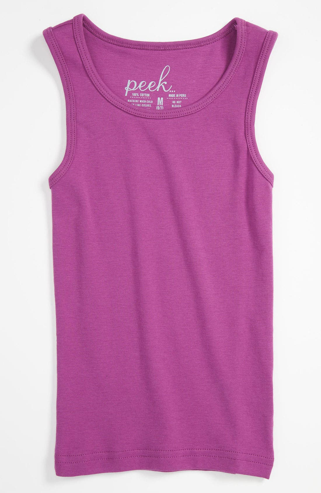 Alternate Image 1 Selected - Peek 'Daisy' Tank Top (Toddler, Little Girls & Big Girls)