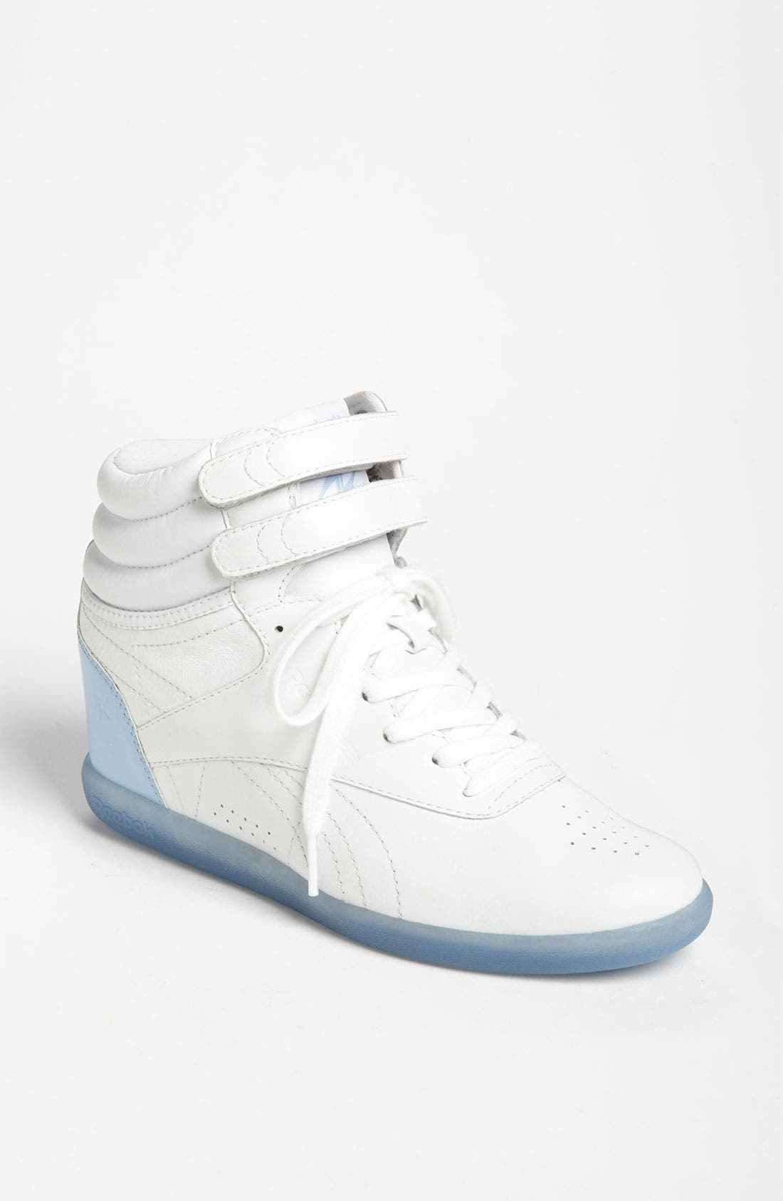 Alternate Image 1 Selected - Reebok 'Freestyle Hi Wedge A. Keys' Sneaker (Women)