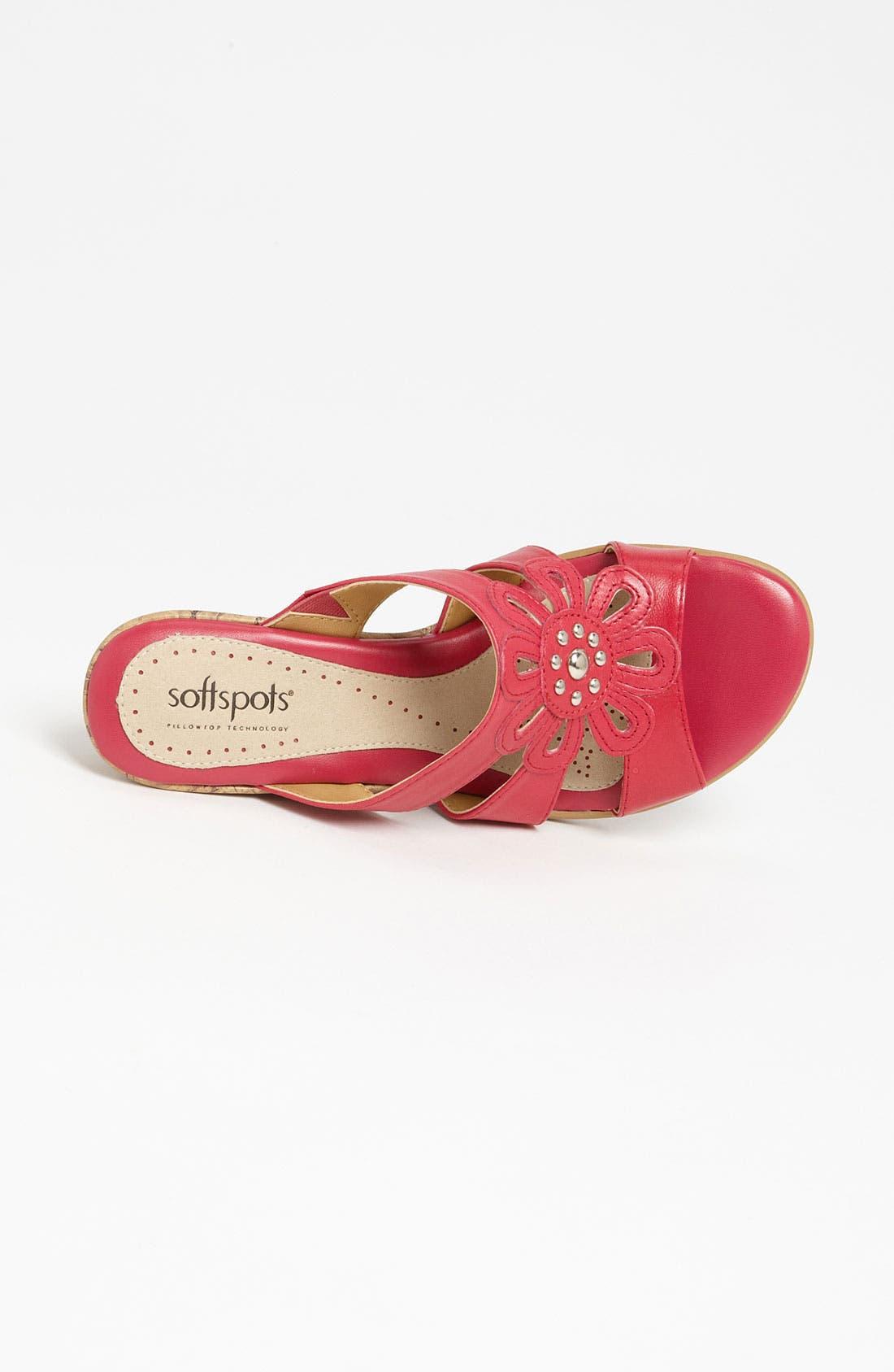 Alternate Image 3  - Softspots 'Lilianna' Wedge Sandal