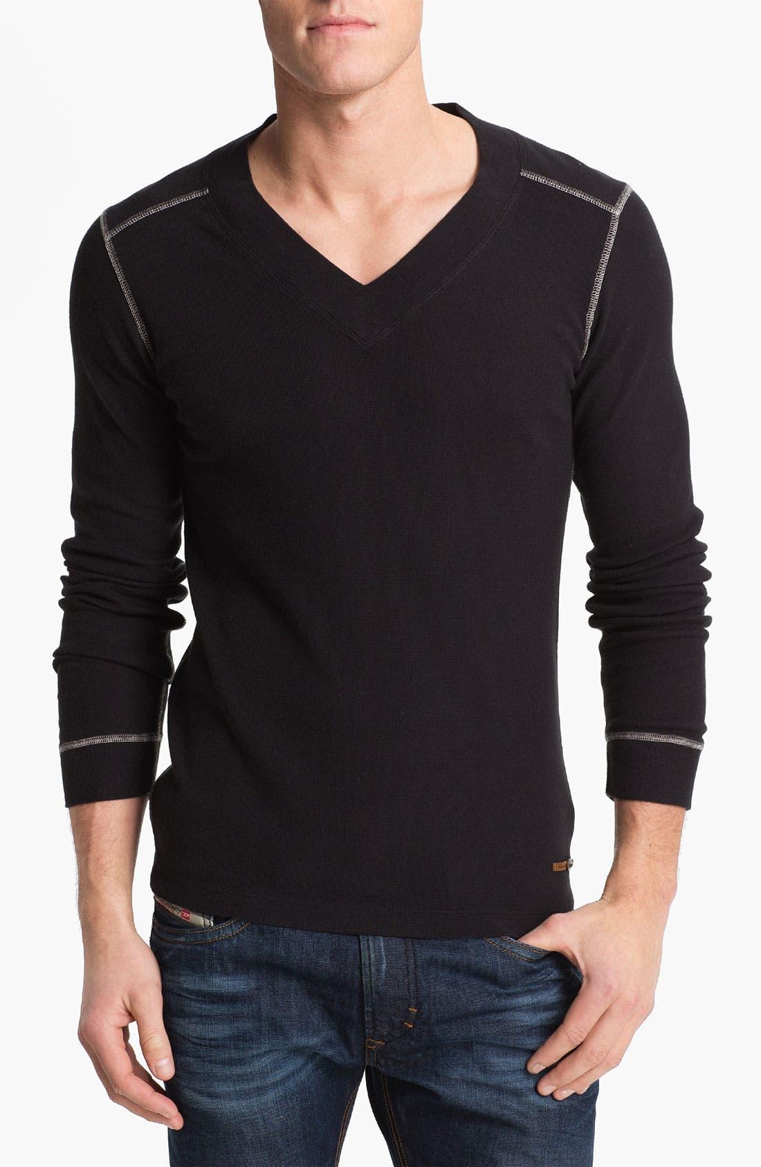 Main Image - DIESEL® 'Reflexive'  V-Neck T-Shirt
