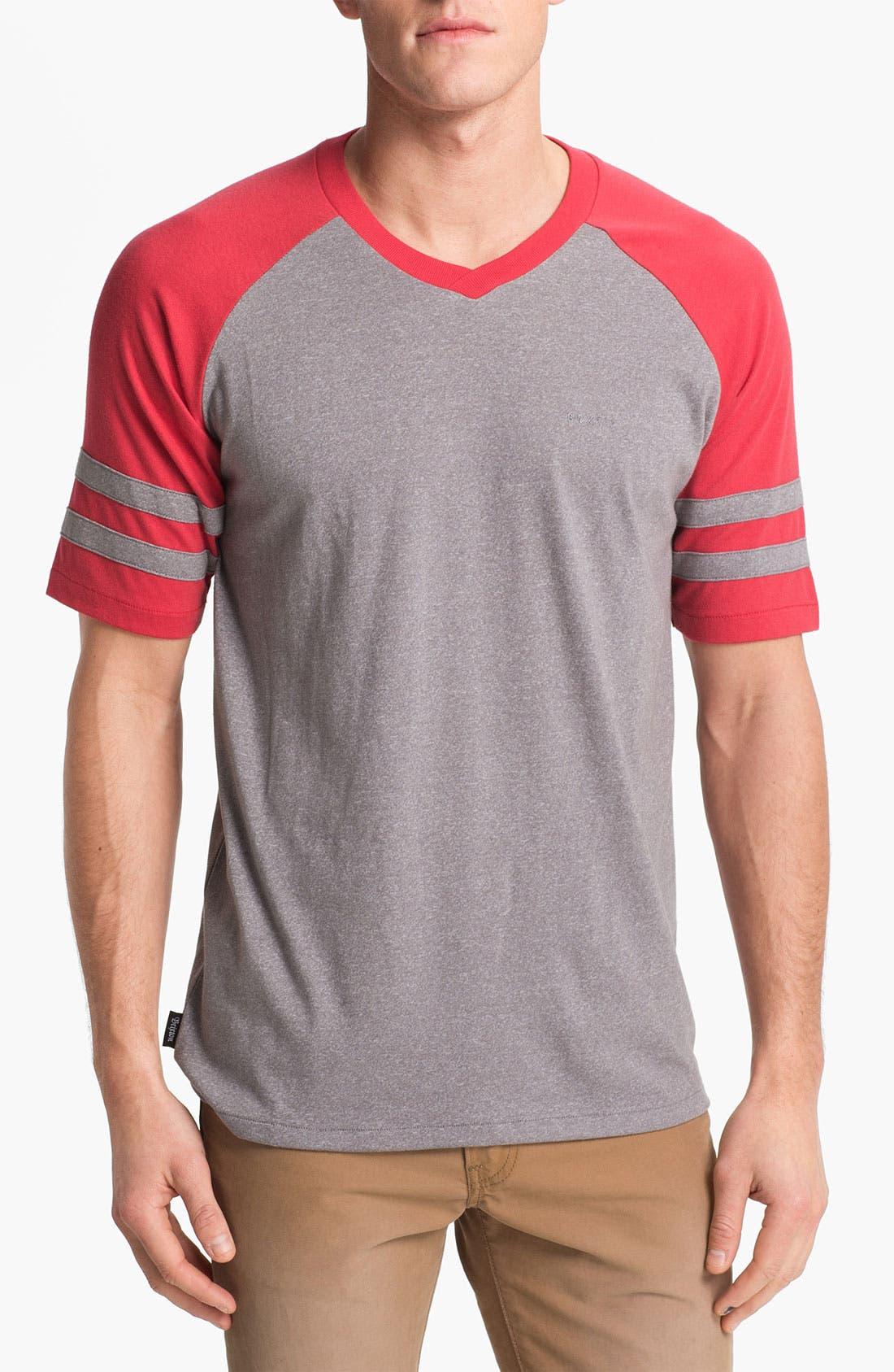 Alternate Image 1 Selected - Brixton 'Victor' V-Neck T-Shirt