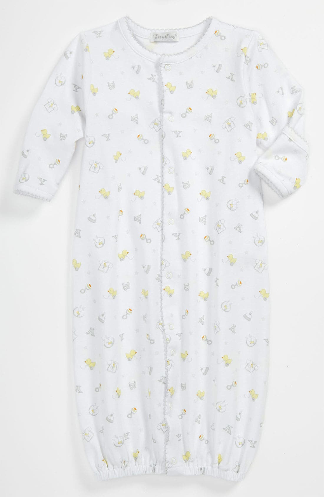 Alternate Image 1 Selected - Kissy Kissy Convertible Gown (Baby)