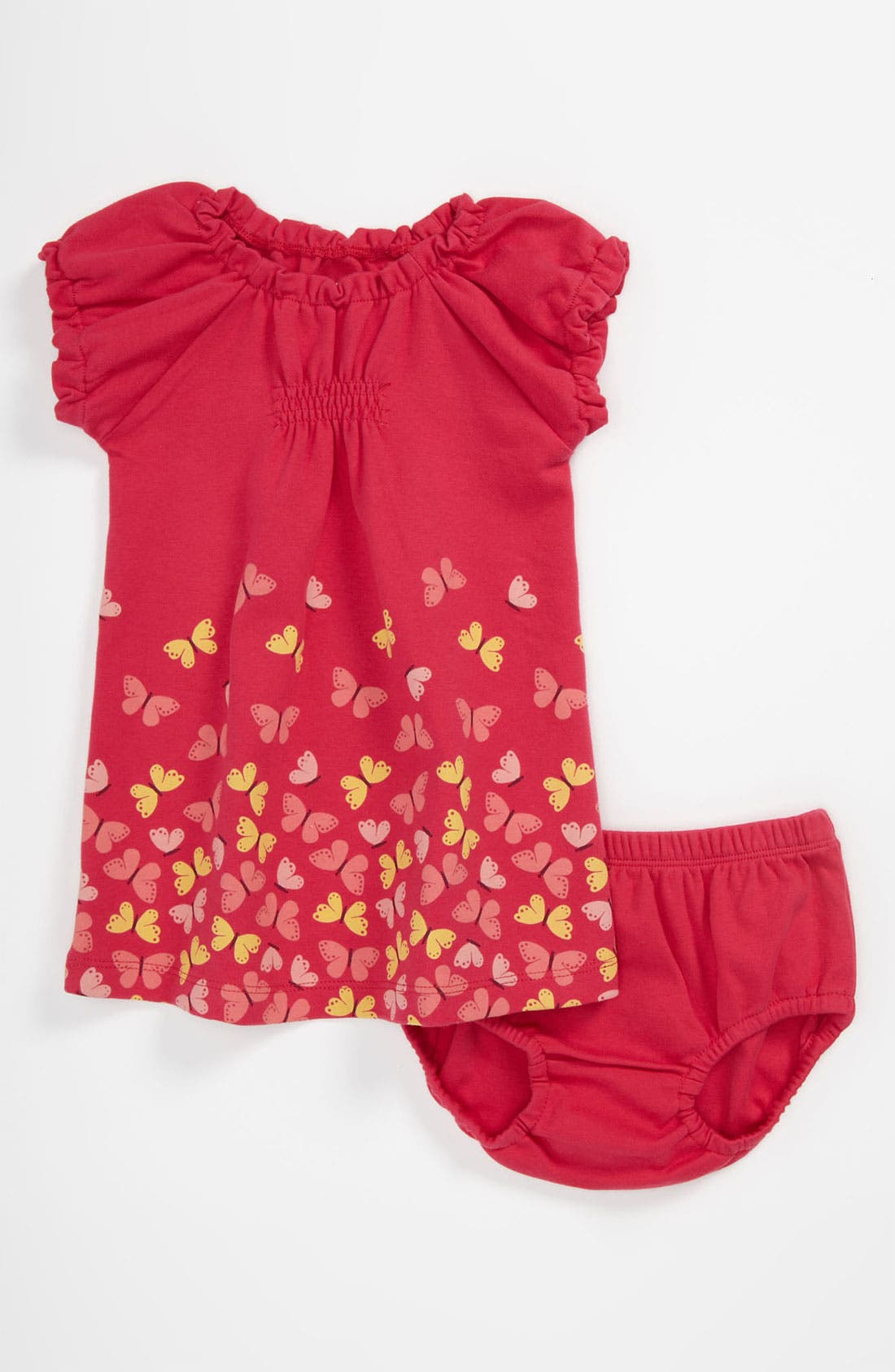 Alternate Image 1 Selected - Tea Collection 'Butterfly' Dress (Infant)