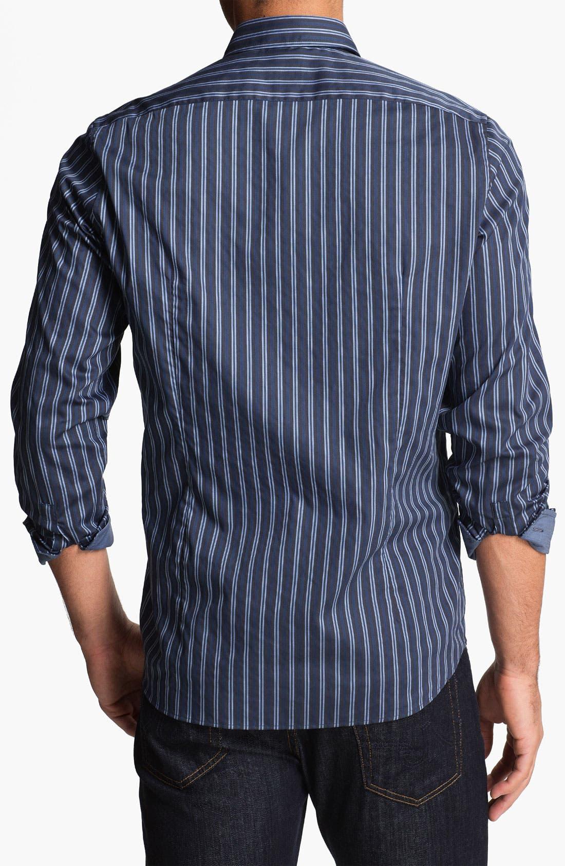 Alternate Image 2  - BOSS Black 'Lucas' Regular Fit Sport Shirt