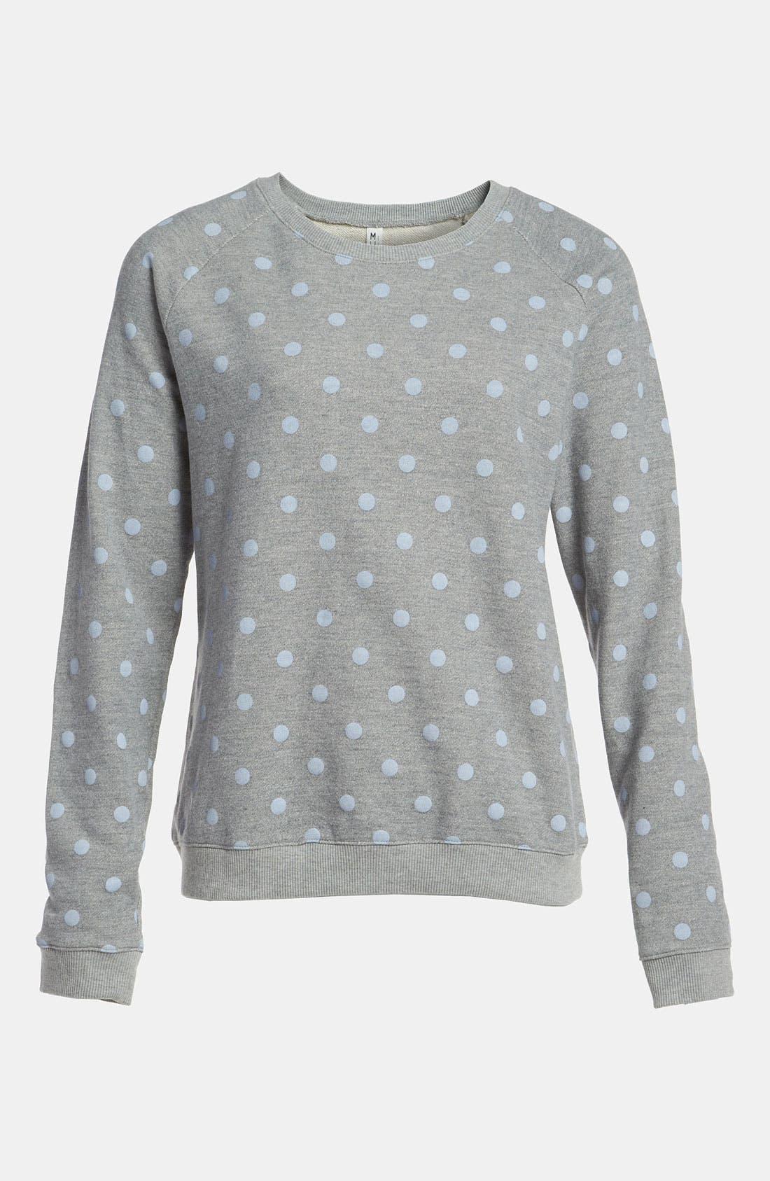 Alternate Image 1 Selected - Mural Polka Dot Sweatshirt