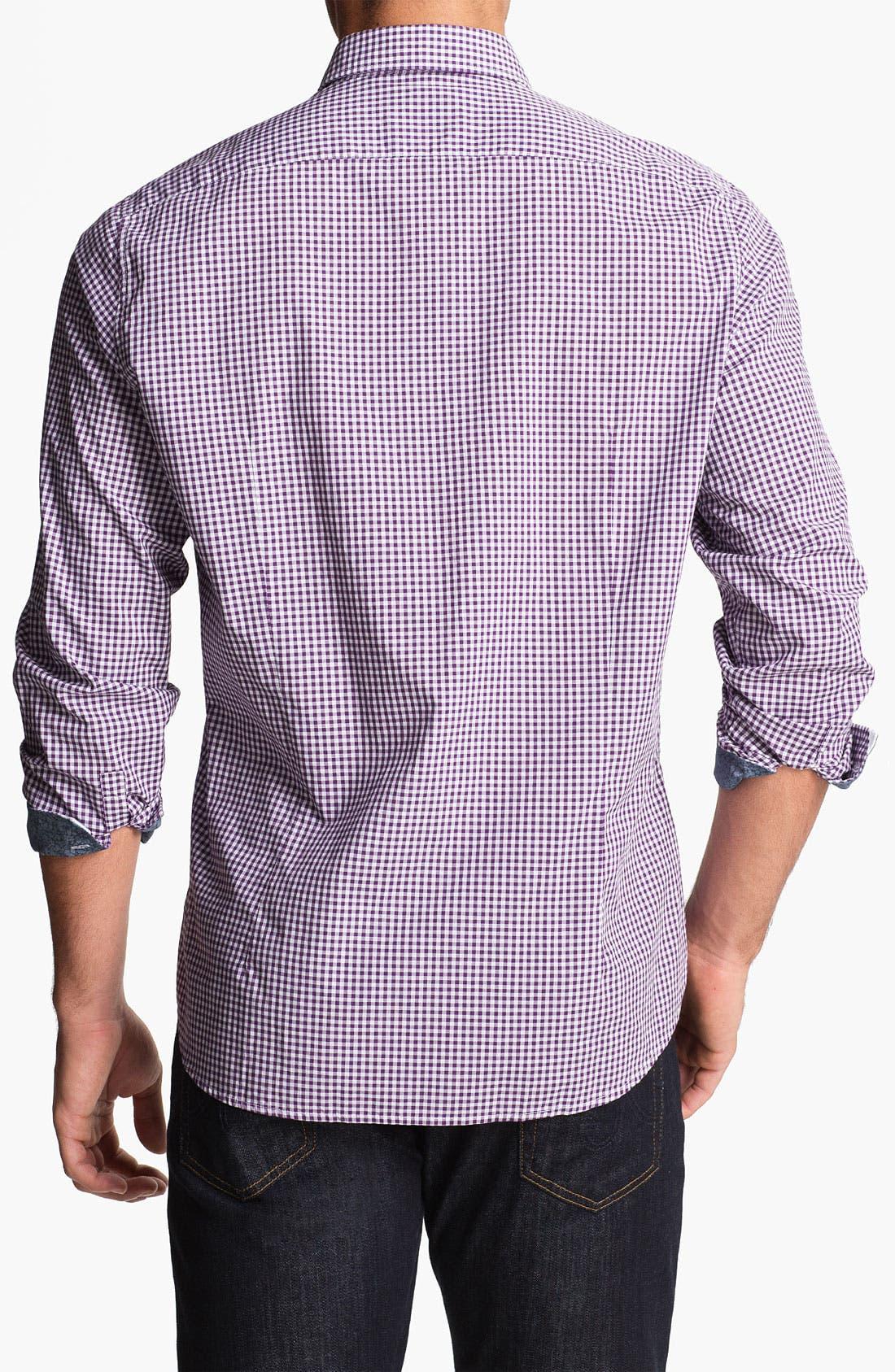 Alternate Image 2  - BOSS HUGO BOSS 'Obert' Regular Fit Sport Shirt