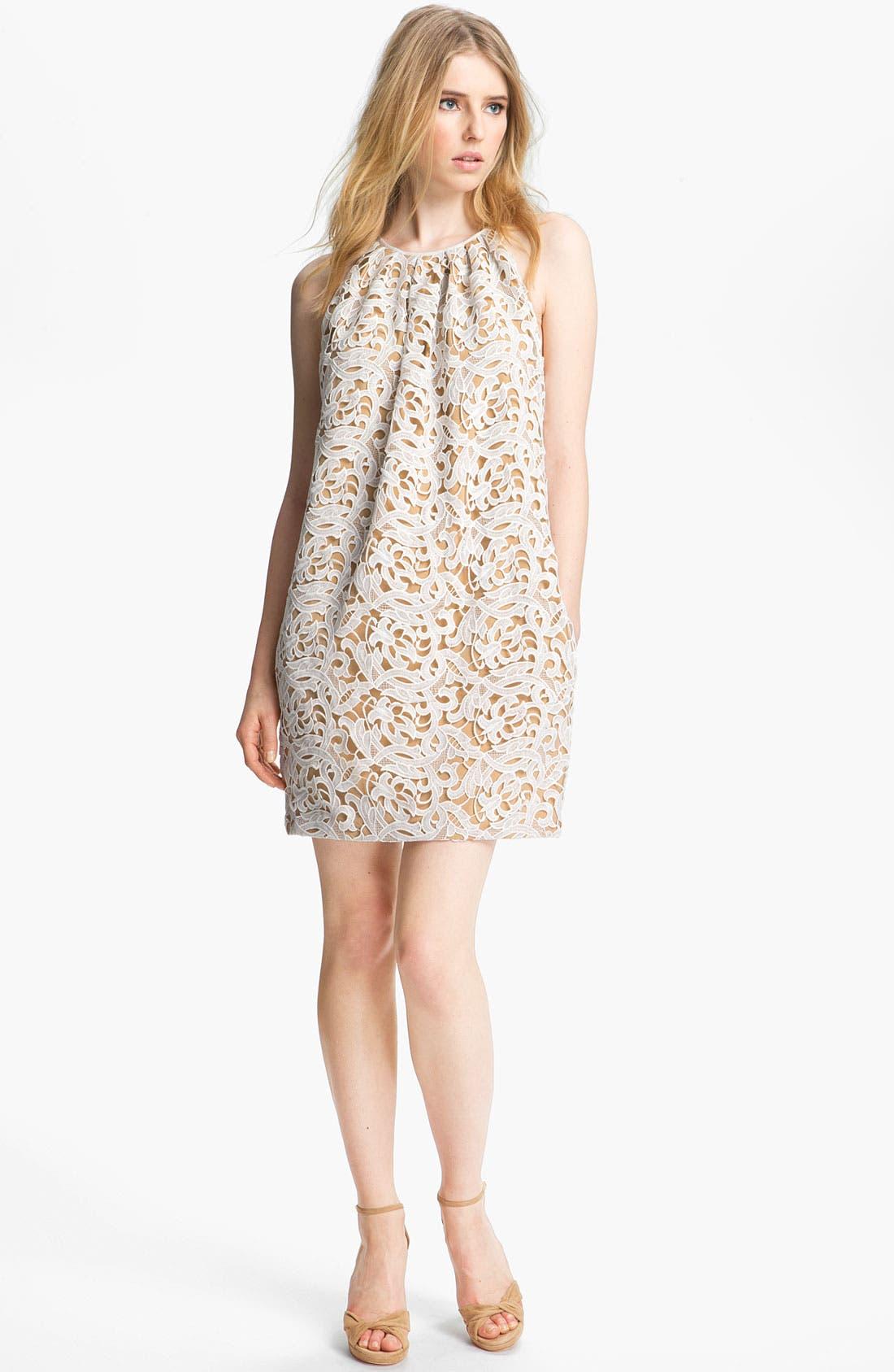 Main Image - Jay Godfrey 'Lowell' Lace Shift Dress