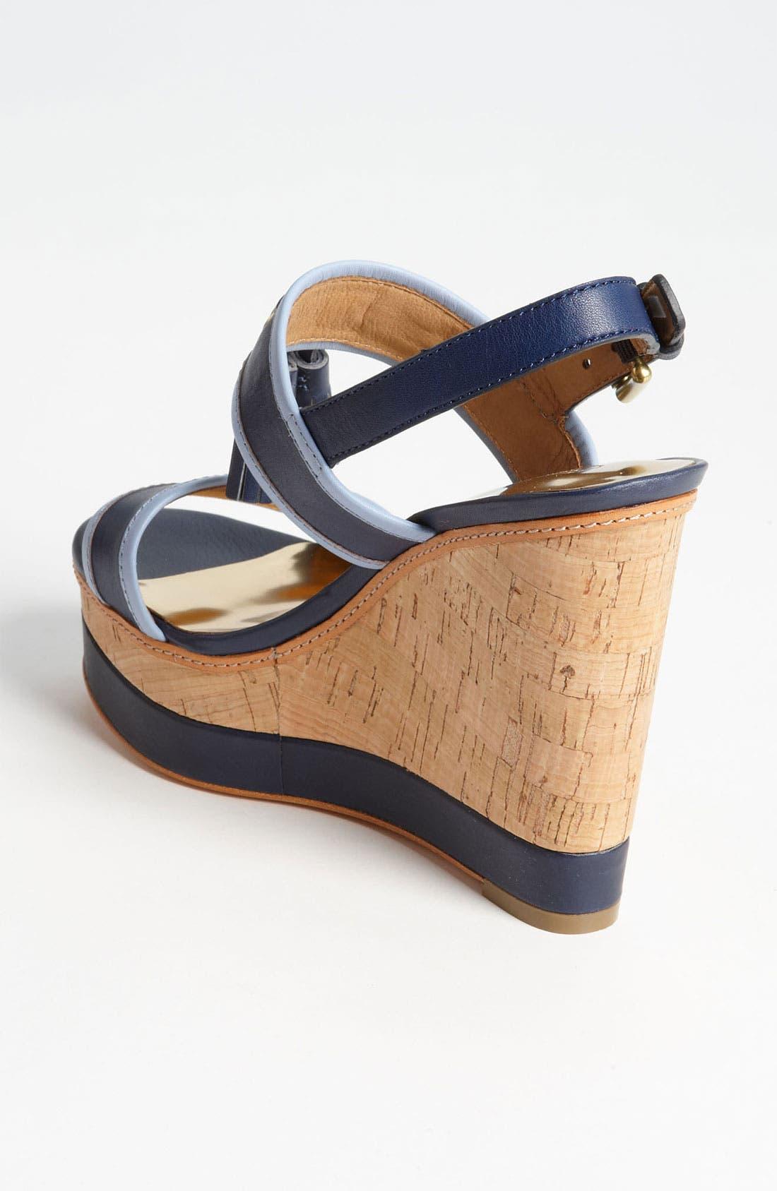Alternate Image 2  - COACH 'Guileietta' Wedge Sandal