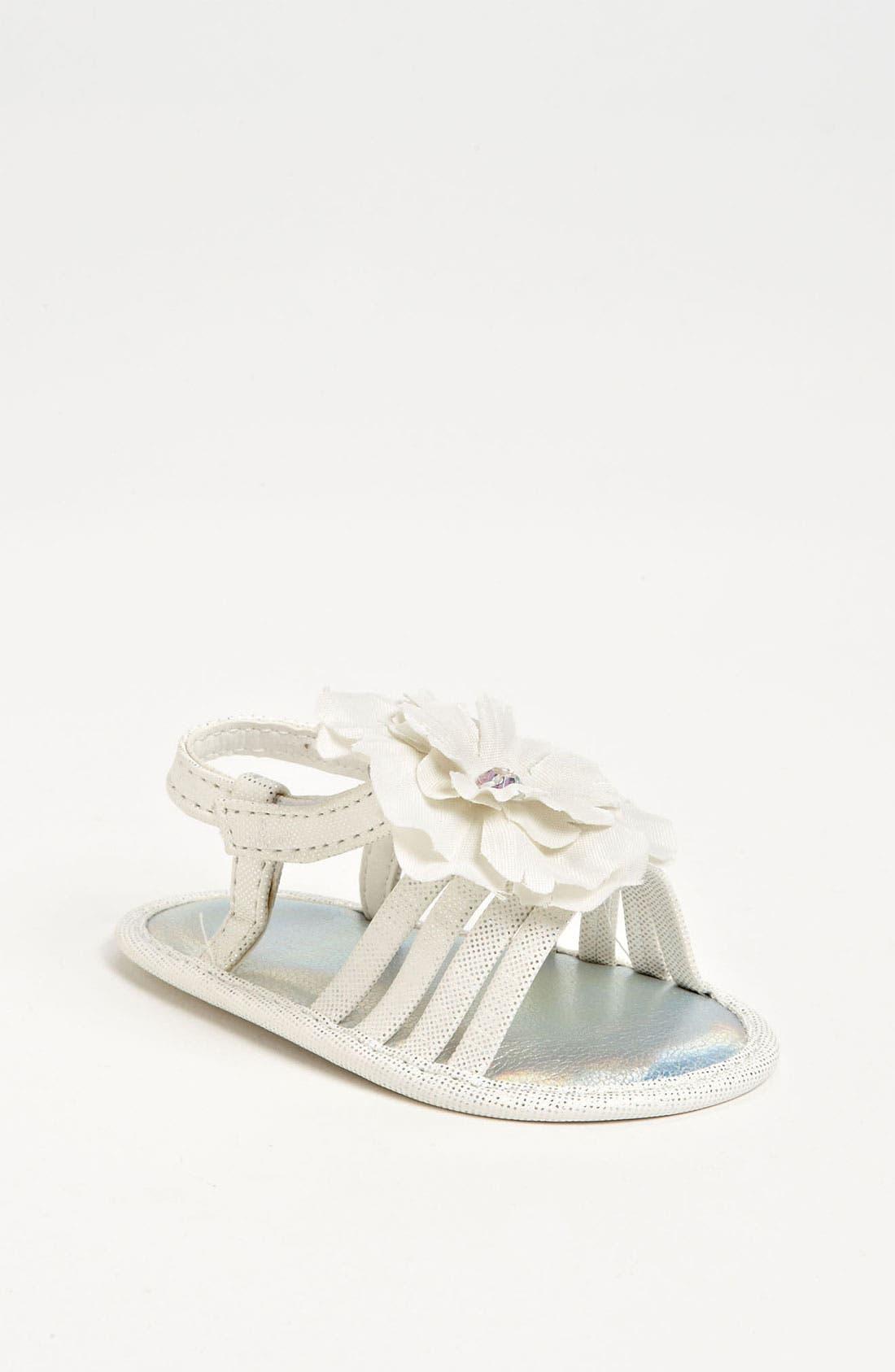 Alternate Image 1 Selected - Stuart Weitzman 'Babybuddy' Sandal (Baby)