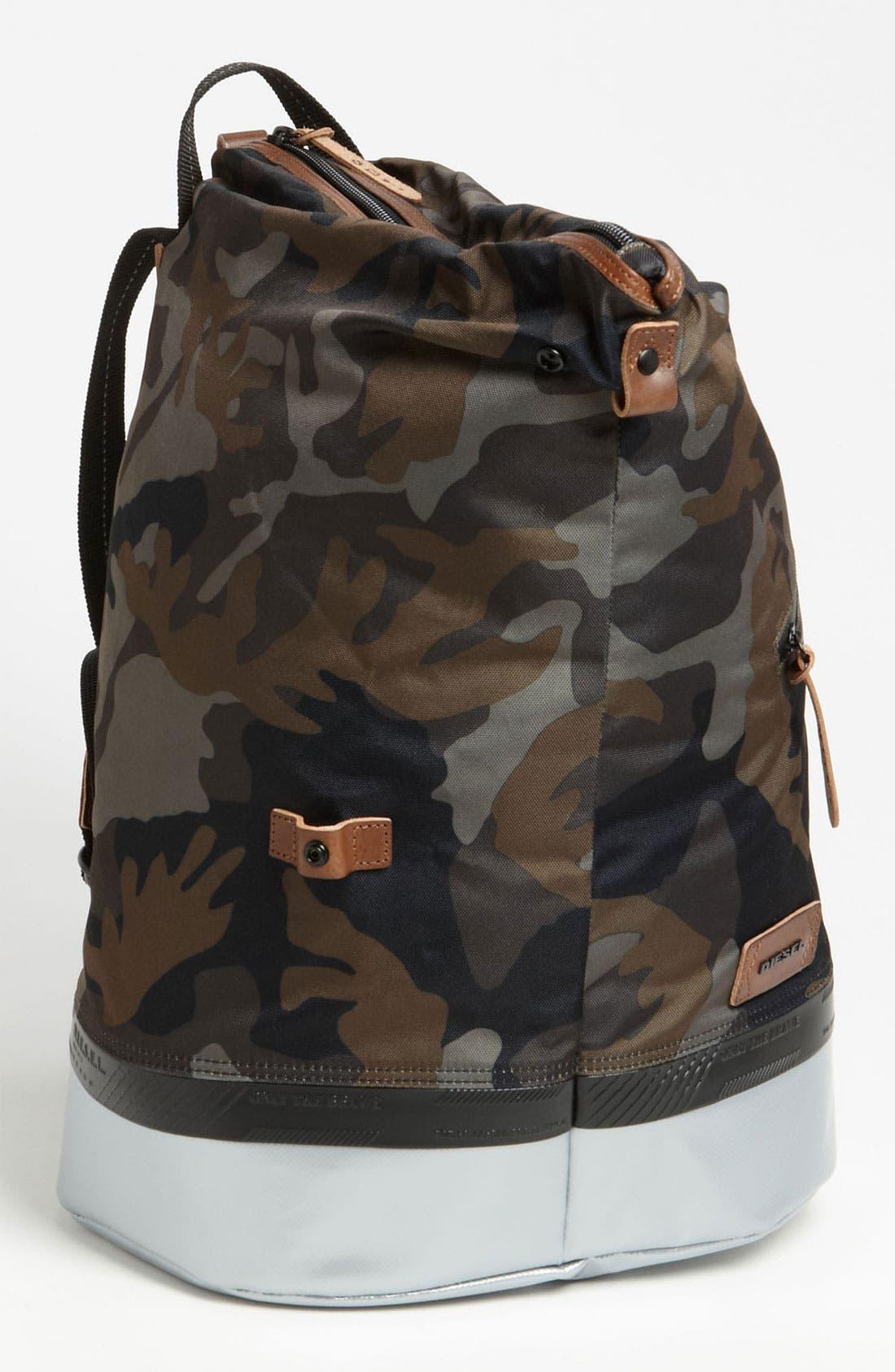 Alternate Image 1 Selected - DIESEL® 'Rubber Hub' Backpack