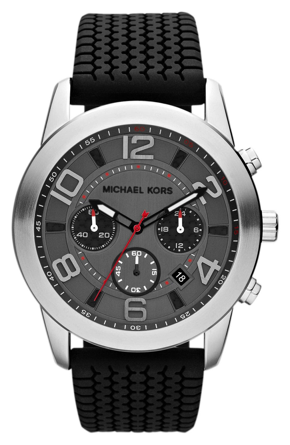 Alternate Image 1 Selected - Michael Kors 'Mercer' Large Chronograph Watch, 45mm