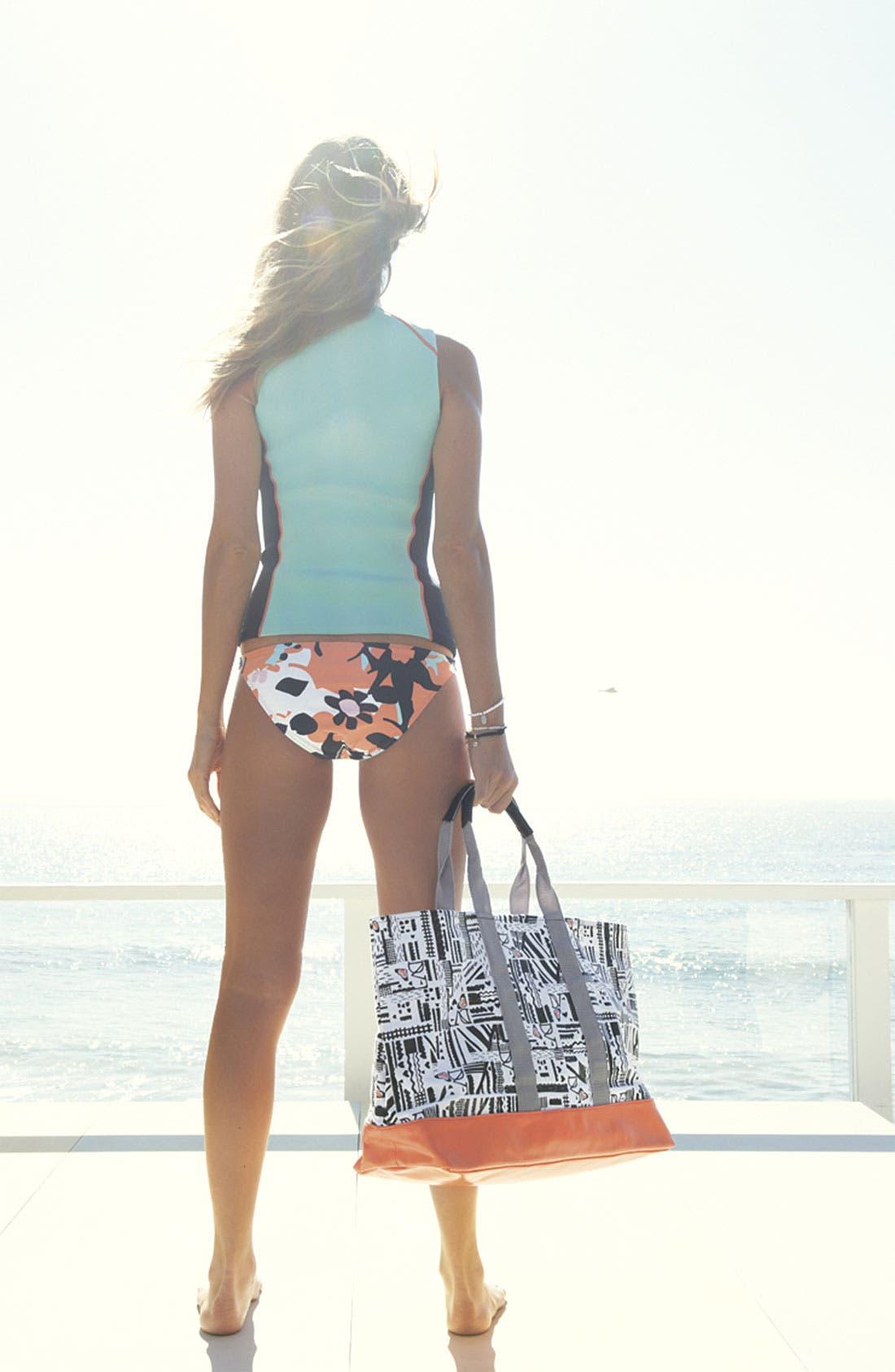 Alternate Image 5  - 'DVF Loves Roxy' Tote Bag