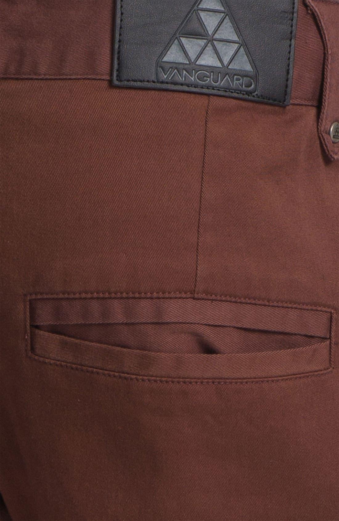 Alternate Image 3  - Vanguard 'Rino' Slim Fit Chinos