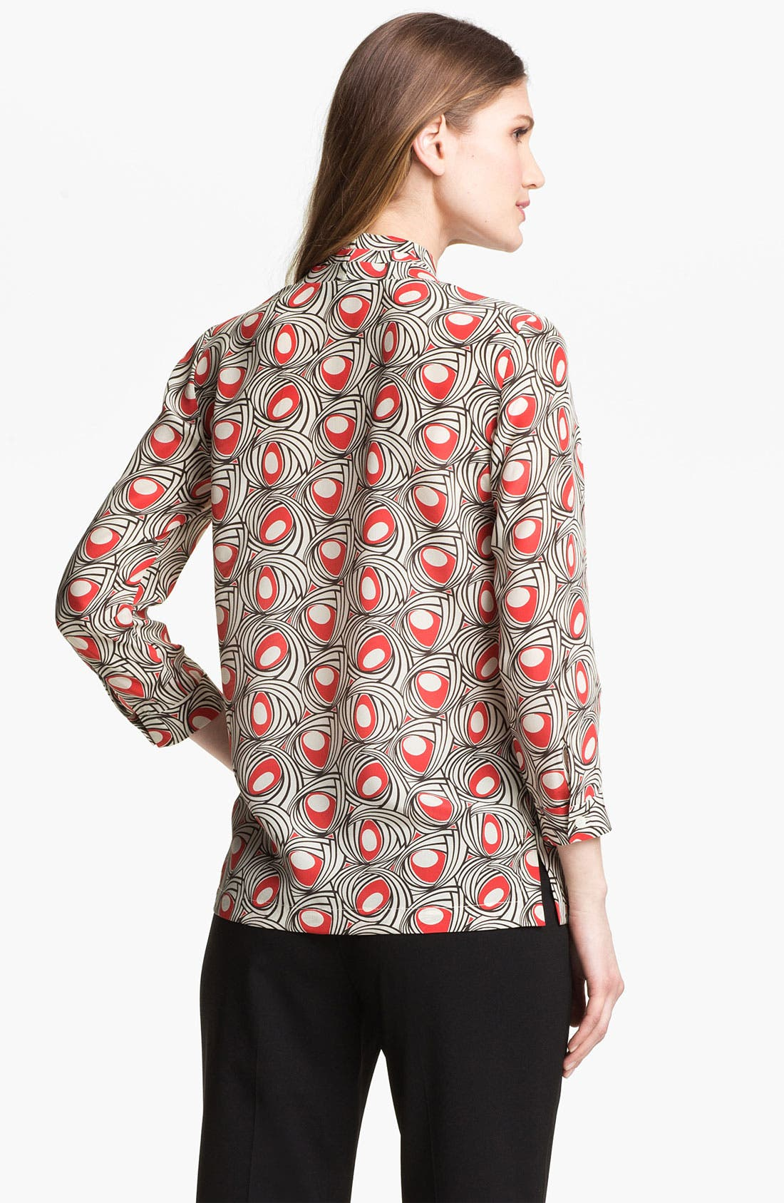 Alternate Image 2  - Lafayette 148 New York 'Niely - Marquee' Silk Blouse