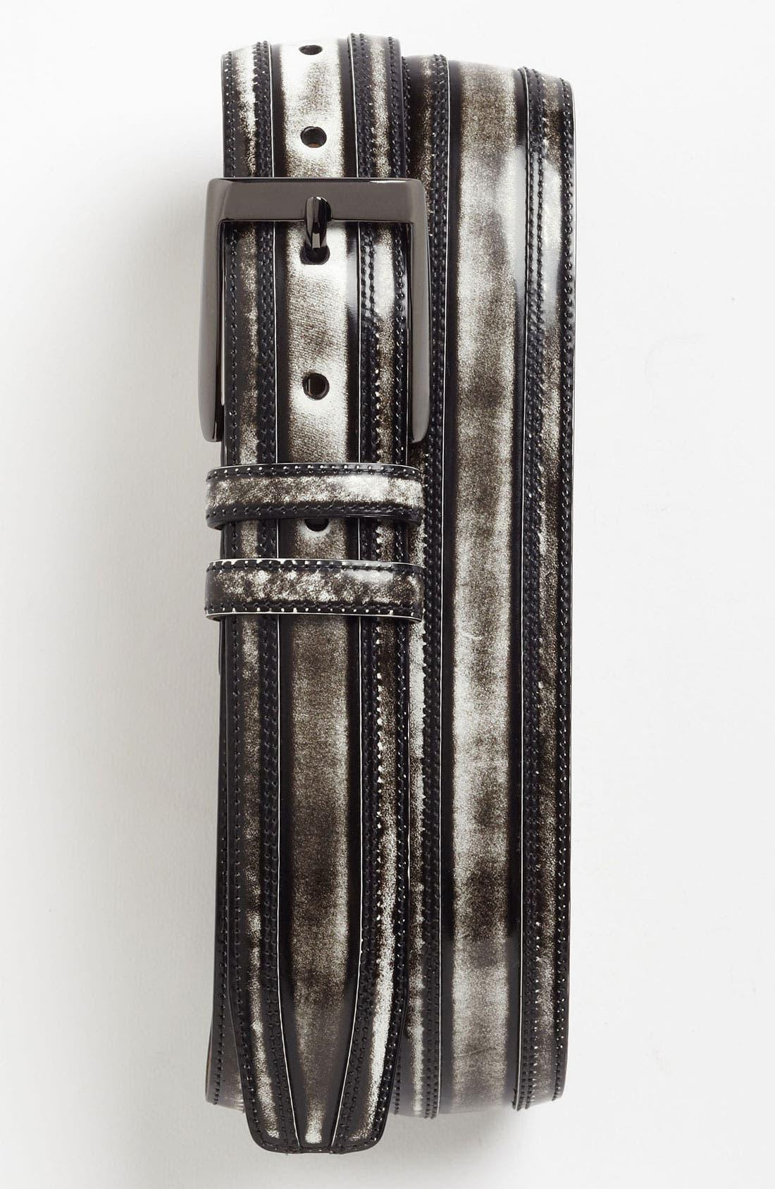 Main Image - Mezlan 'Shade' Leather Belt