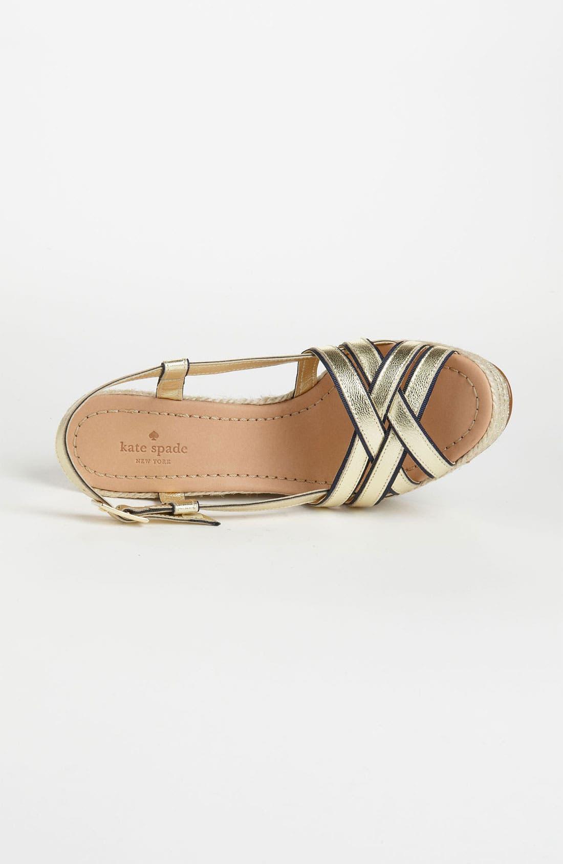 Alternate Image 3  - kate spade new york 'ladan' wedge sandal