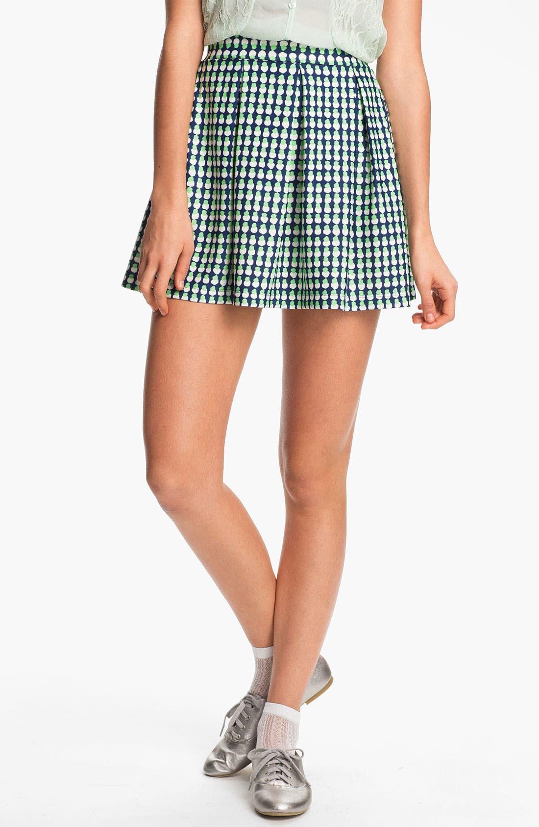 Main Image - Soprano Skuba Skater Skirt (Juniors)