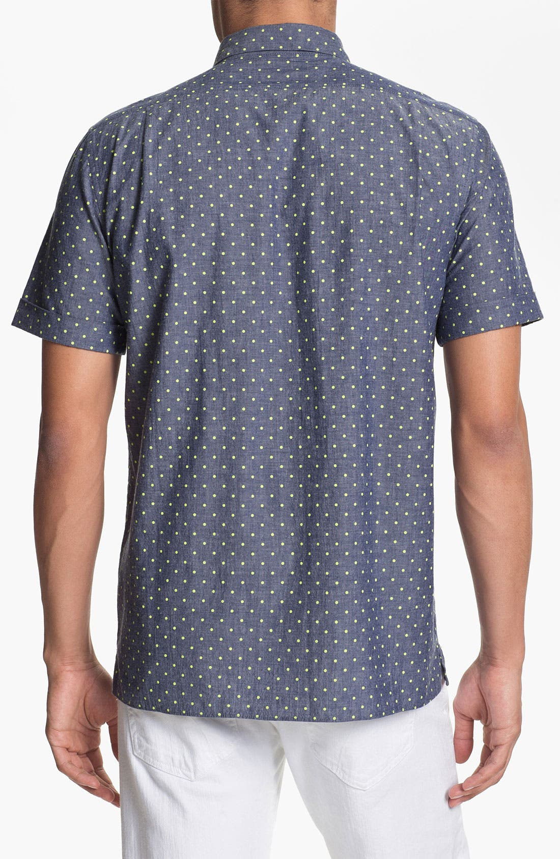 Alternate Image 2  - MARC BY MARC JACOBS Dot Print Chambray Shirt