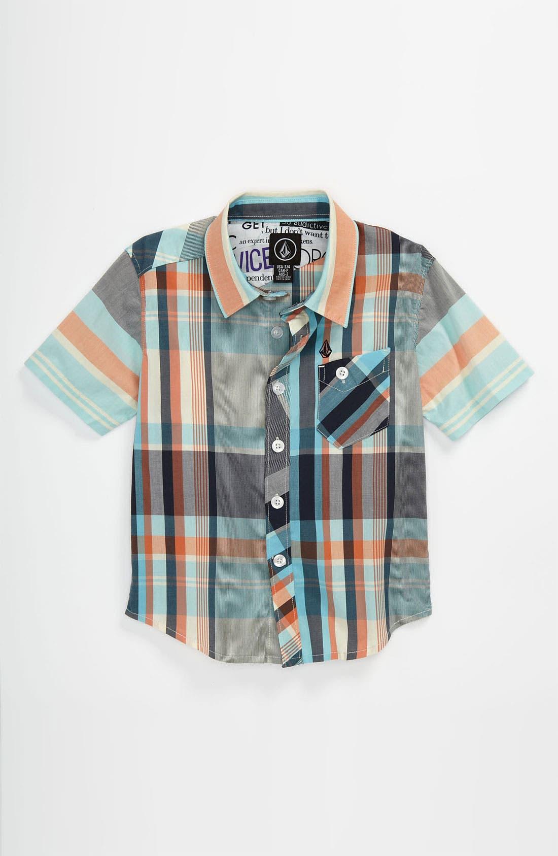 Main Image - Volcom 'Lonsway' Woven Shirt (Big Boys)