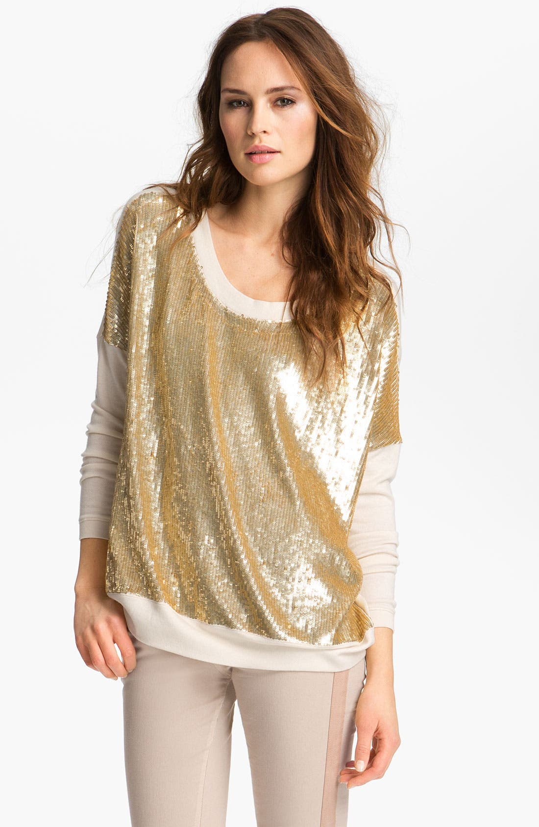 Alternate Image 2  - Haute Hippie Sequin Pullover