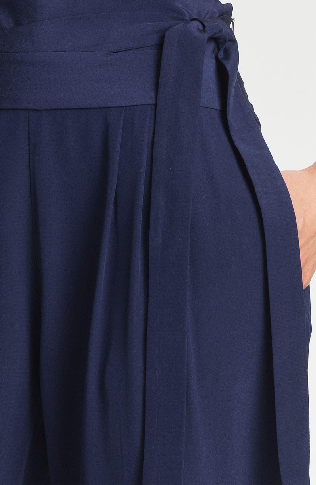 Alternate Image 3  - Diane von Furstenberg 'Keaka' Silk Capri Pants
