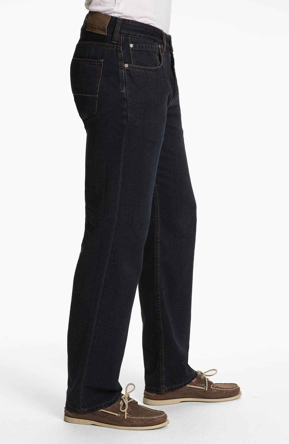 Alternate Image 3  - Tommy Bahama Denim 'Coastal Island Ease' Straight Leg Jeans (Black Overdye)
