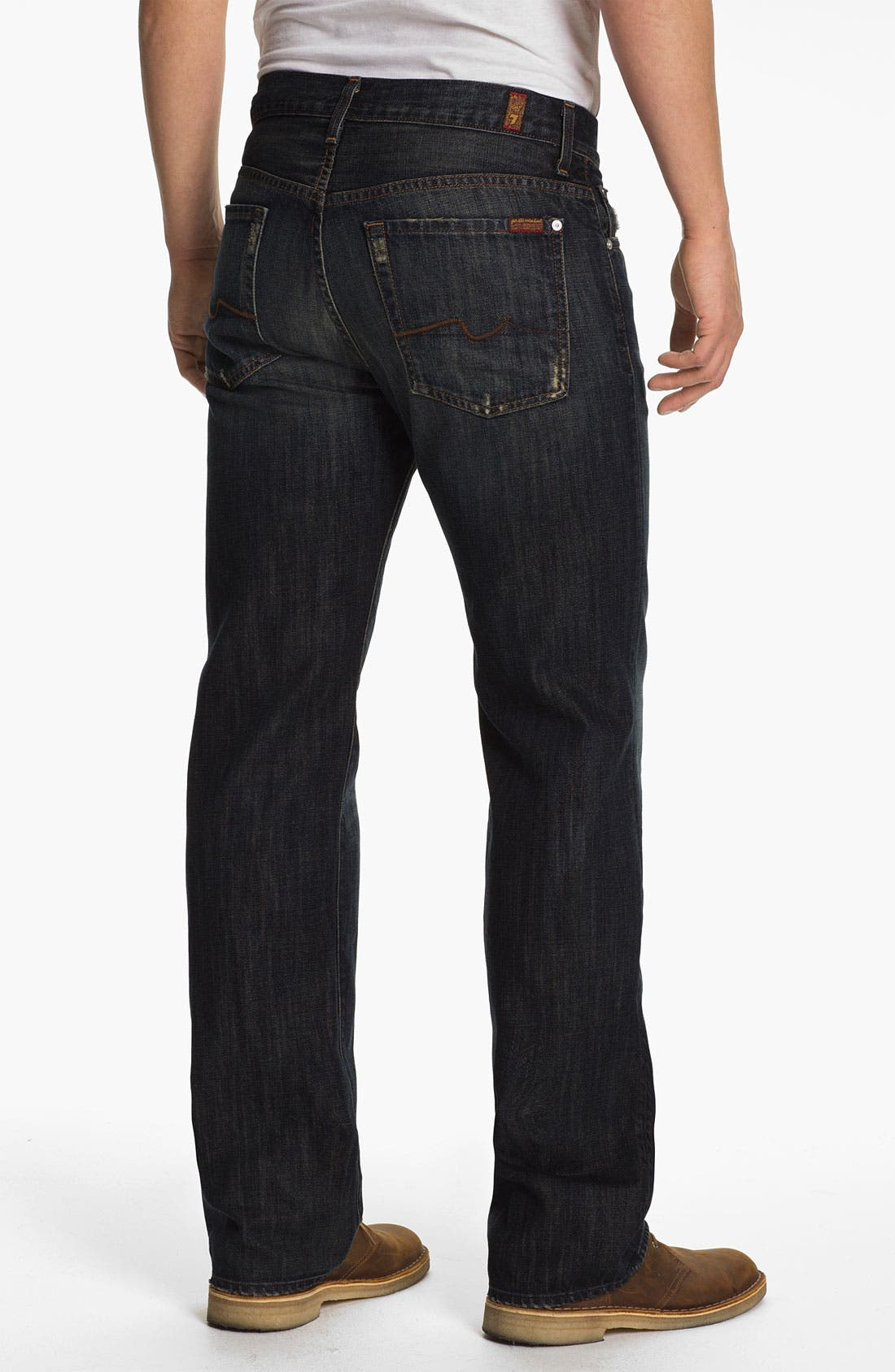 Alternate Image 2  - 7 For All Mankind® 'Austyn' Relaxed Straight Leg Jeans (Montana)