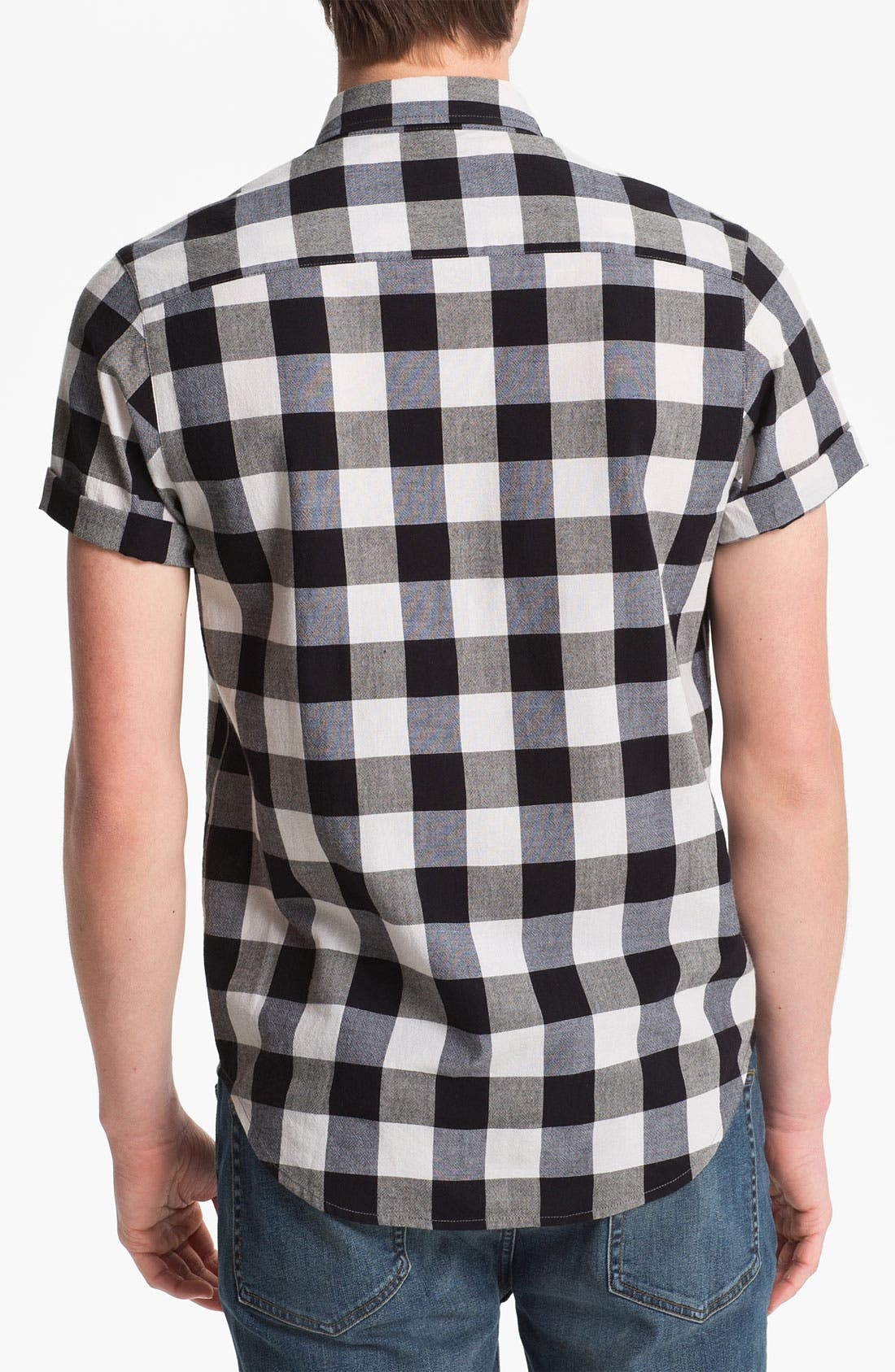 Alternate Image 2  - Topman Gingham Shirt
