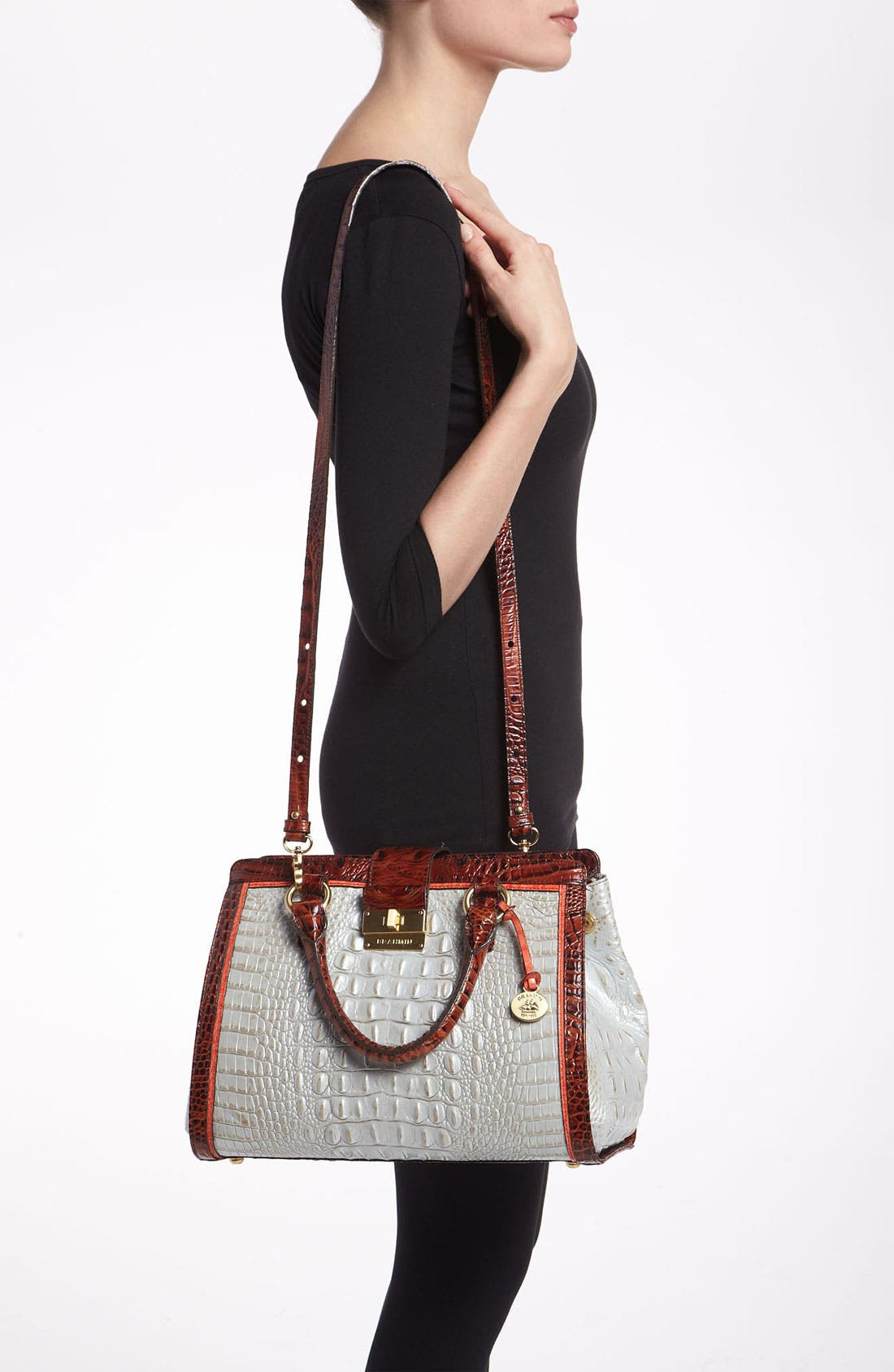 Alternate Image 2  - Brahmin 'Tri Color Annabelle' Handbag