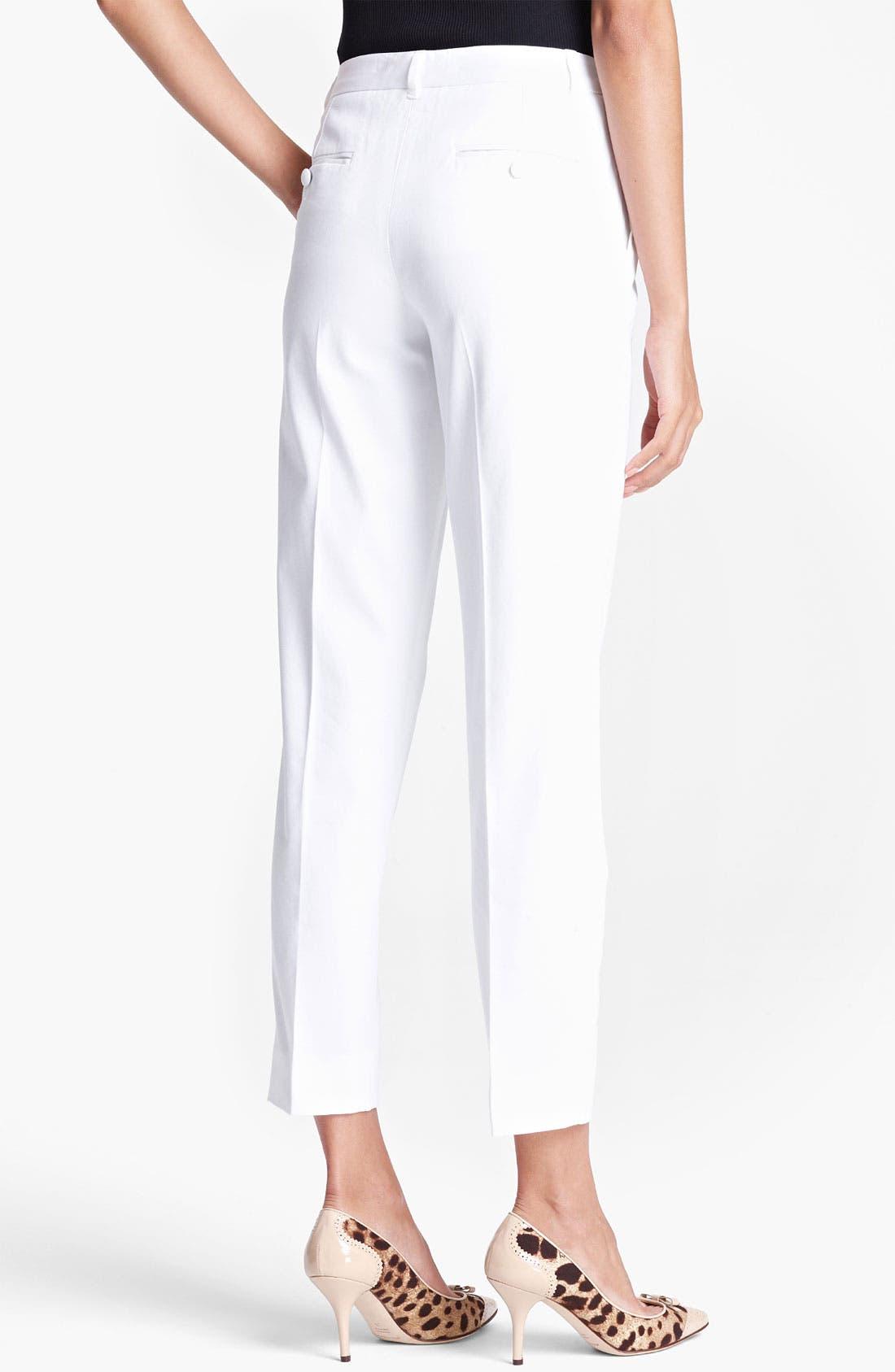 Alternate Image 2  - Dolce&Gabbana Skinny Ankle Pants
