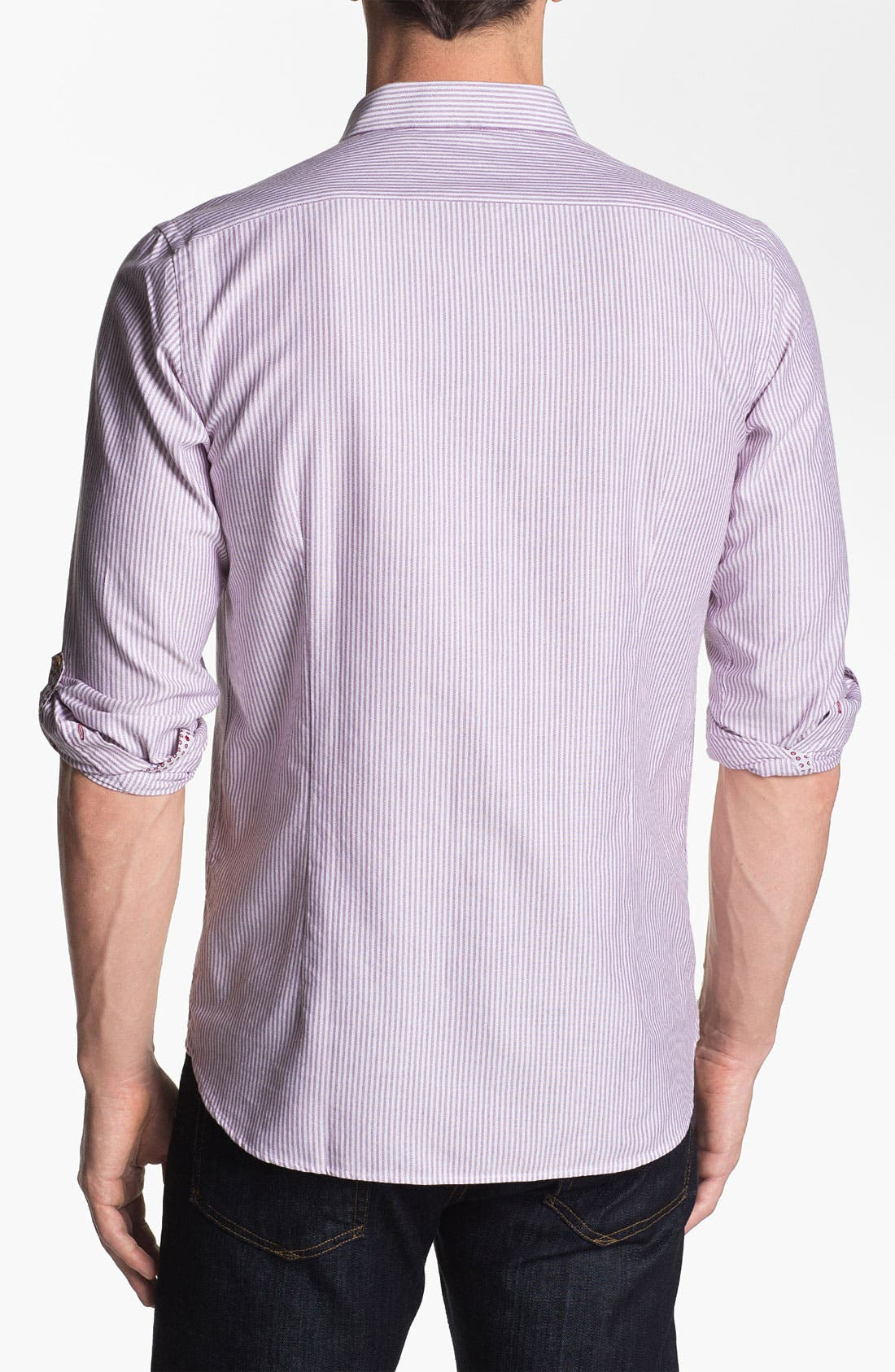 Alternate Image 2  - Ted Baker London 'Oxno' Trim Fit Sport Shirt