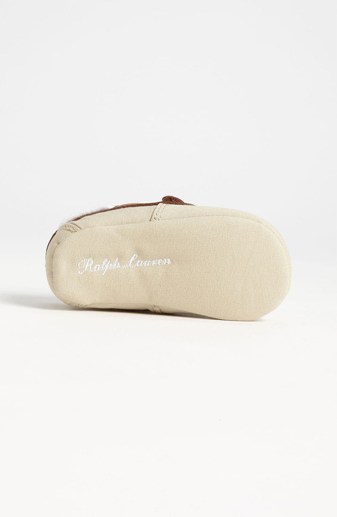 Alternate Image 4  - Ralph Lauren Layette Slip-On (Baby)
