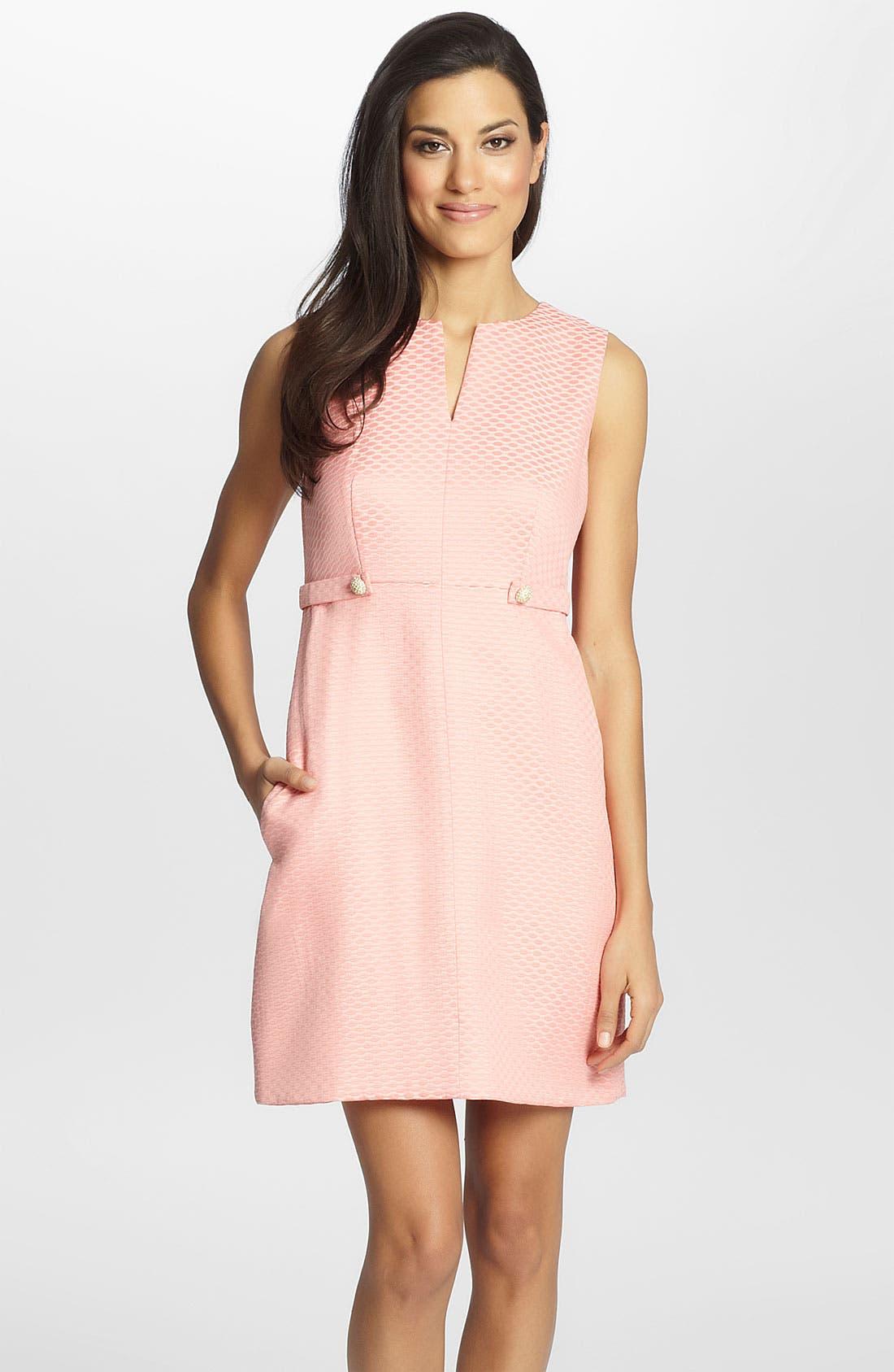 Alternate Image 1 Selected - Cynthia Steffe 'Addison' Jacquard Sheath Dress