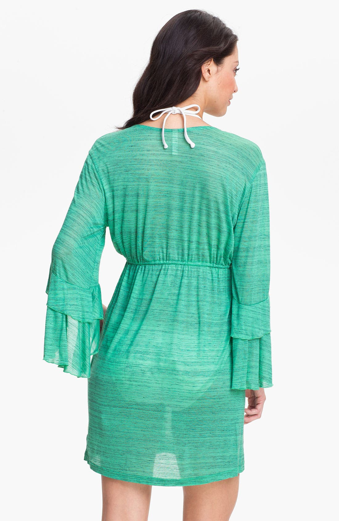 Alternate Image 2  - Elan Flutter Sleeve Cover-Up