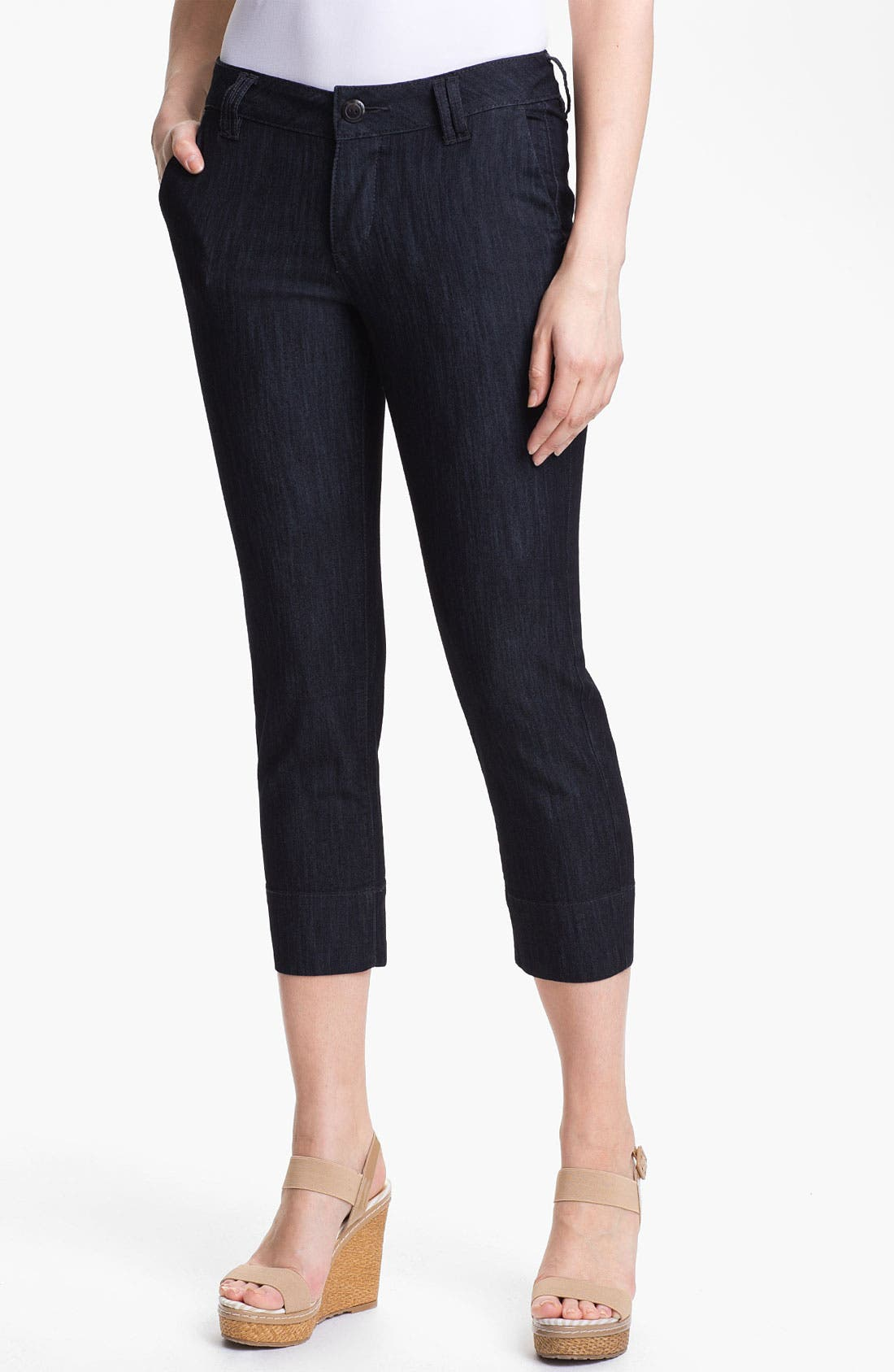 Alternate Image 1 Selected - Jag Jeans 'Maitland' Stretch Crop Jeans