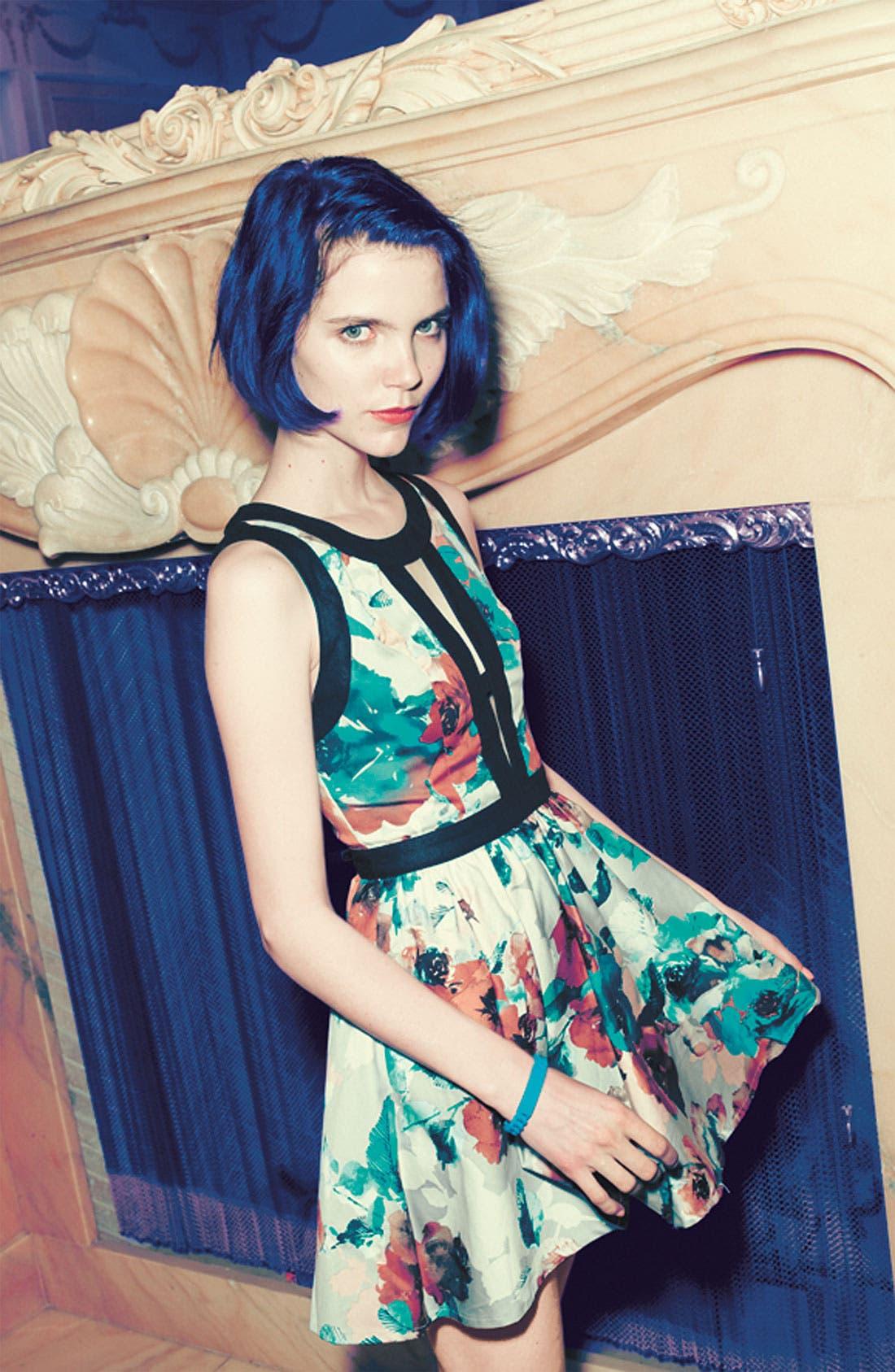 Alternate Image 4  - Keepsake the Label 'Day Dream' Print Fit & Flare Dress