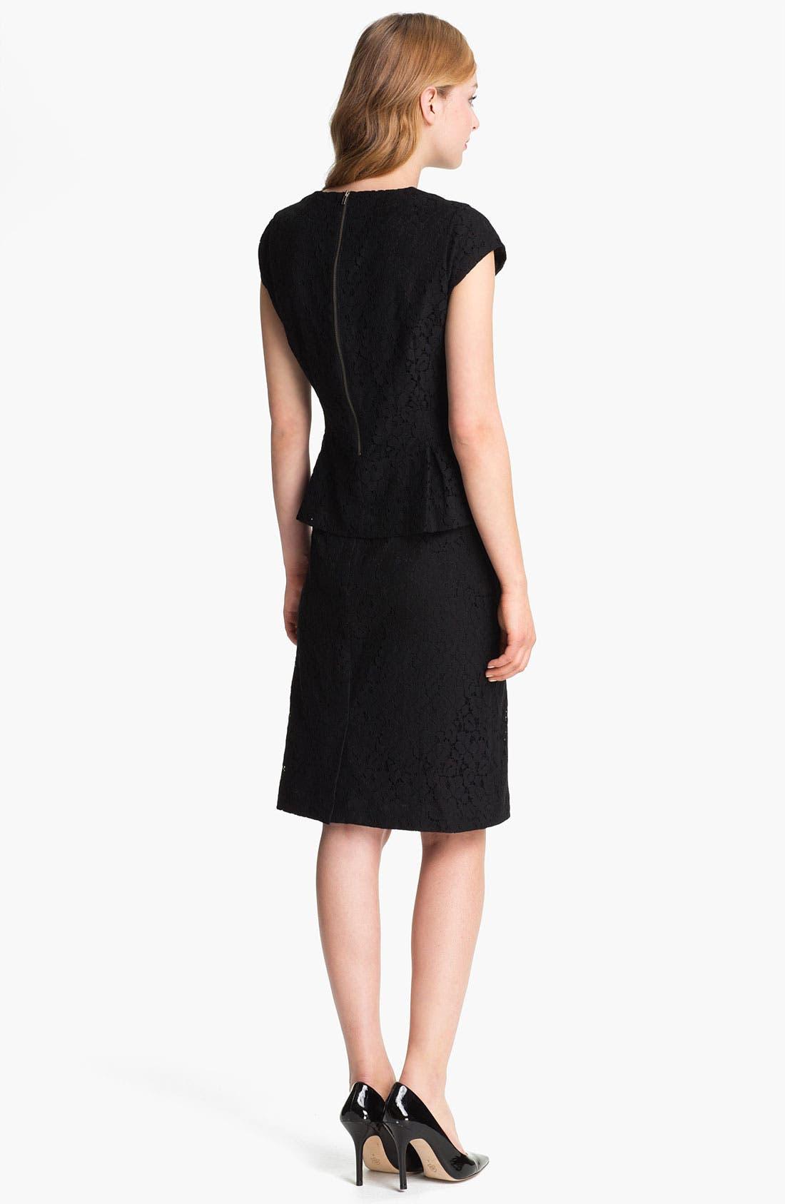 Alternate Image 5  - Halogen® Lace Pencil Skirt