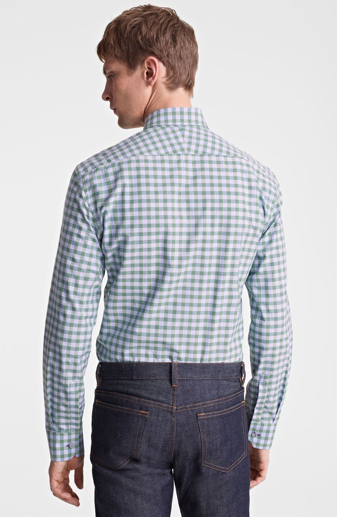 Alternate Image 2  - Paul Smith London Classic Gingham Shirt