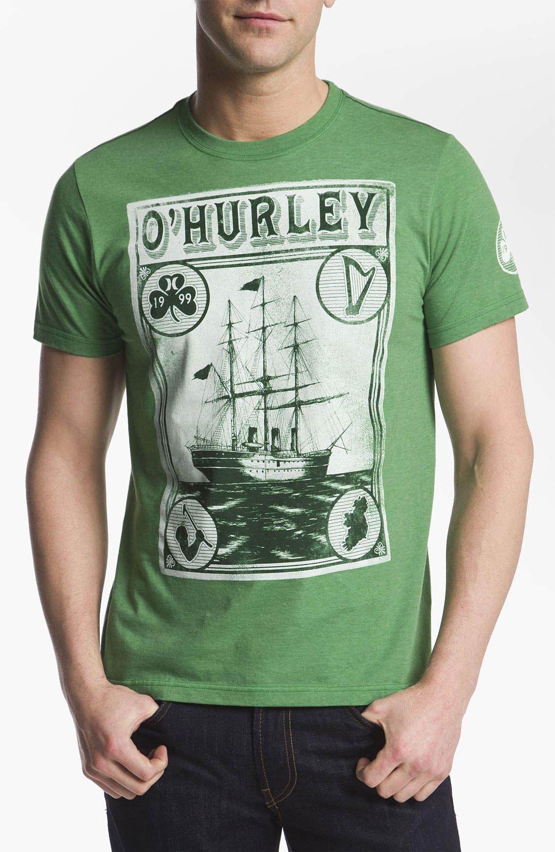 Alternate Image 1 Selected - Hurley 'Slainte' T-Shirt