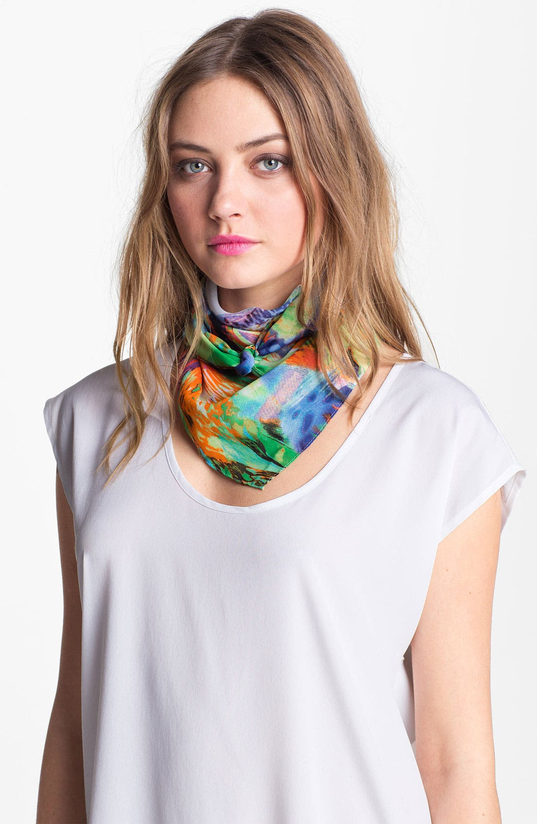 Alternate Image 1 Selected - Nordstrom Color Splash Neckerchief