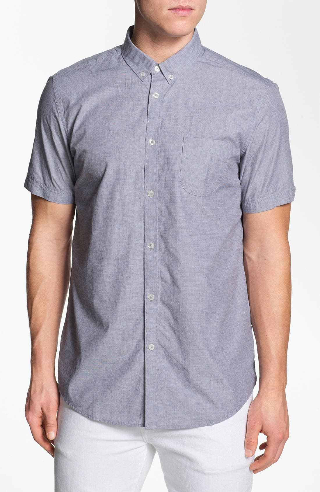 Alternate Image 1 Selected - Ben Sherman End on End Woven Shirt