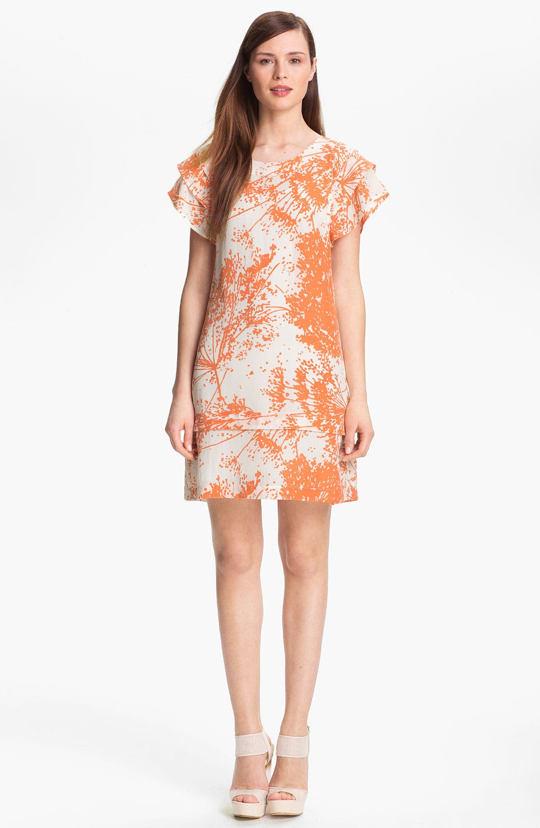 Alternate Image 1  - Rachel Zoe 'Ines' Tiered Sleeve Shift Dress