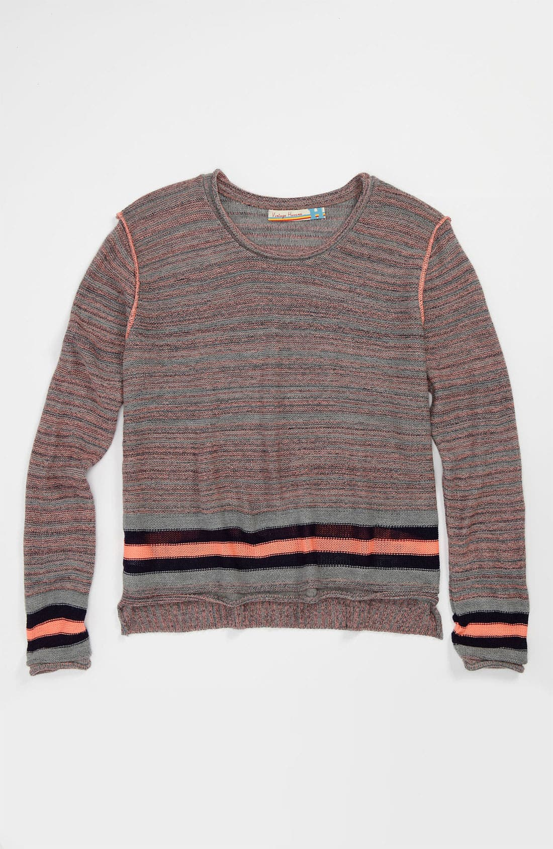 Alternate Image 1 Selected - Vintage Havana Sweater (Big Girls)