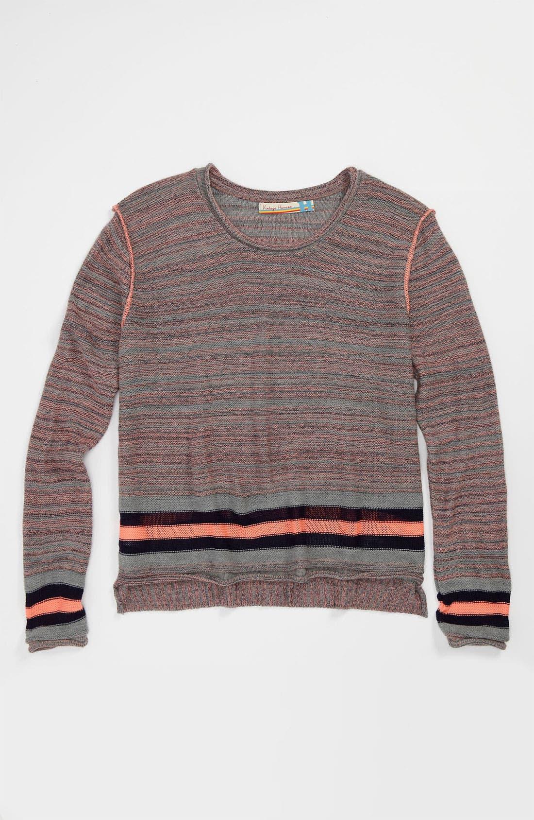 Main Image - Vintage Havana Sweater (Big Girls)