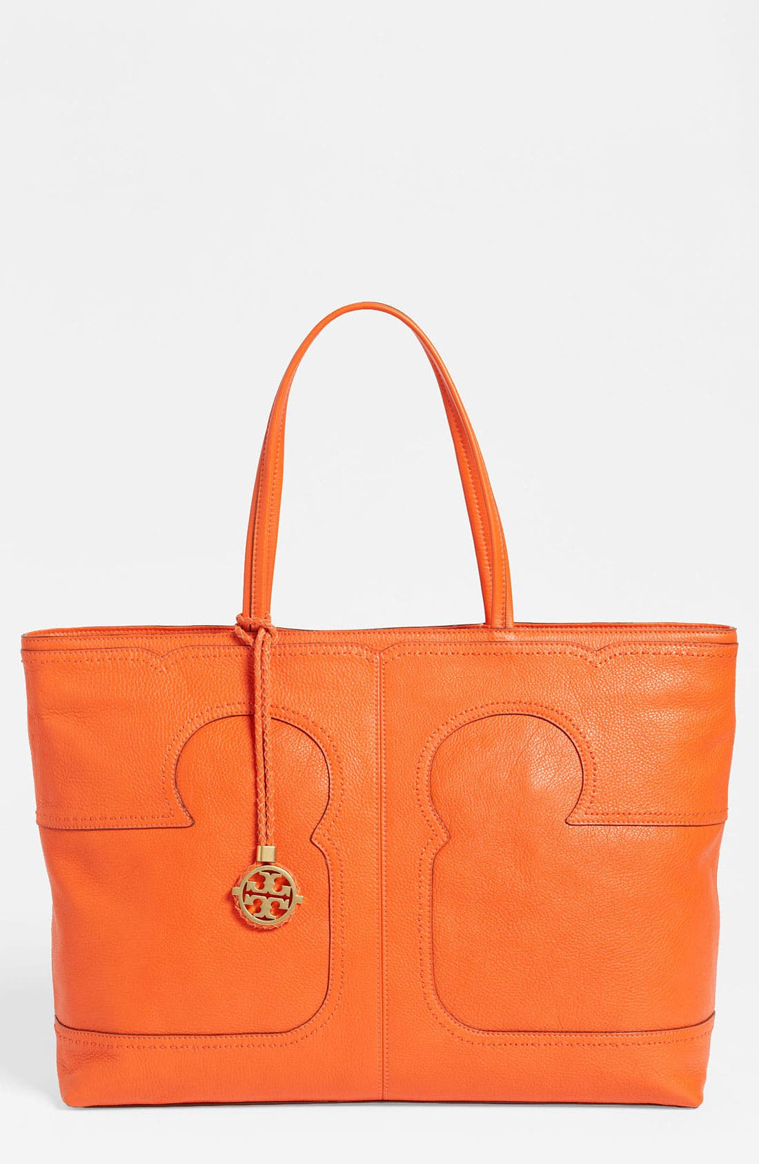 Main Image - Tory Burch 'Amalie' Leather Tote
