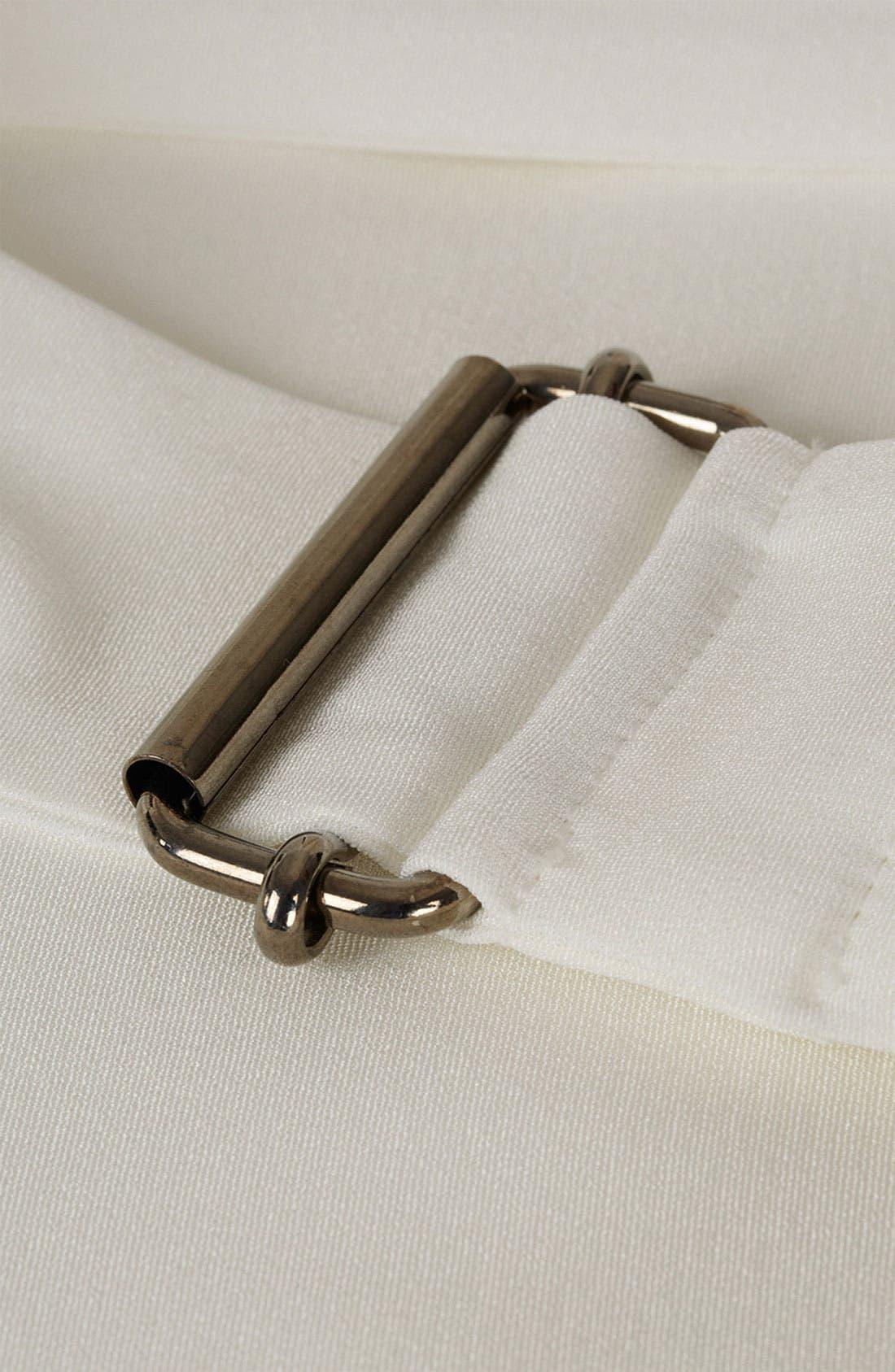 Alternate Image 4  - Topshop Unique Silk Asymmetrical Wrap Skirt