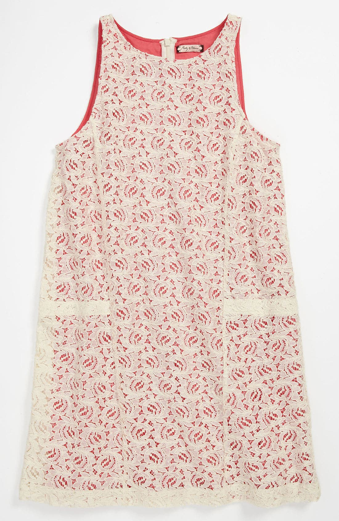 Alternate Image 1 Selected - Ruby & Bloom 'Tori' Lace Dress (Little Girls)